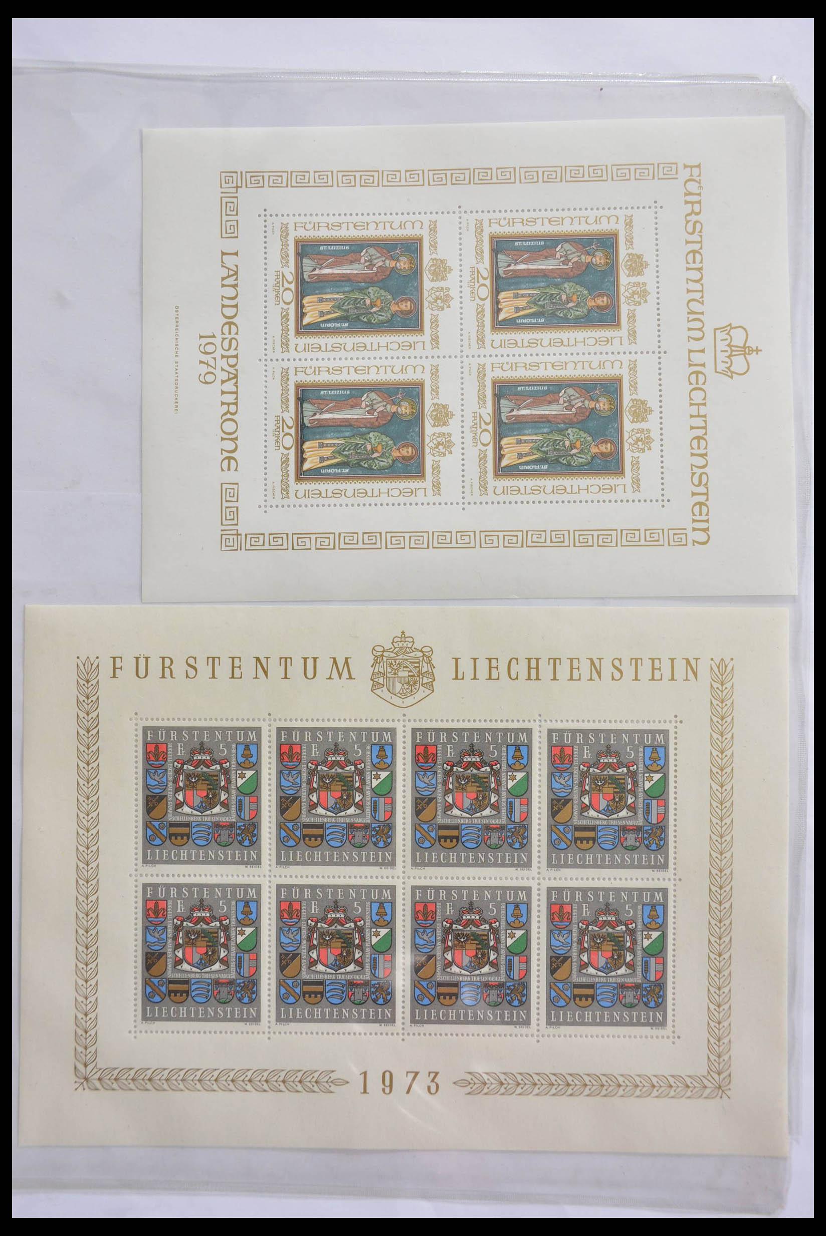 28472 001 - 28472 Liechtenstein 1973-1985.