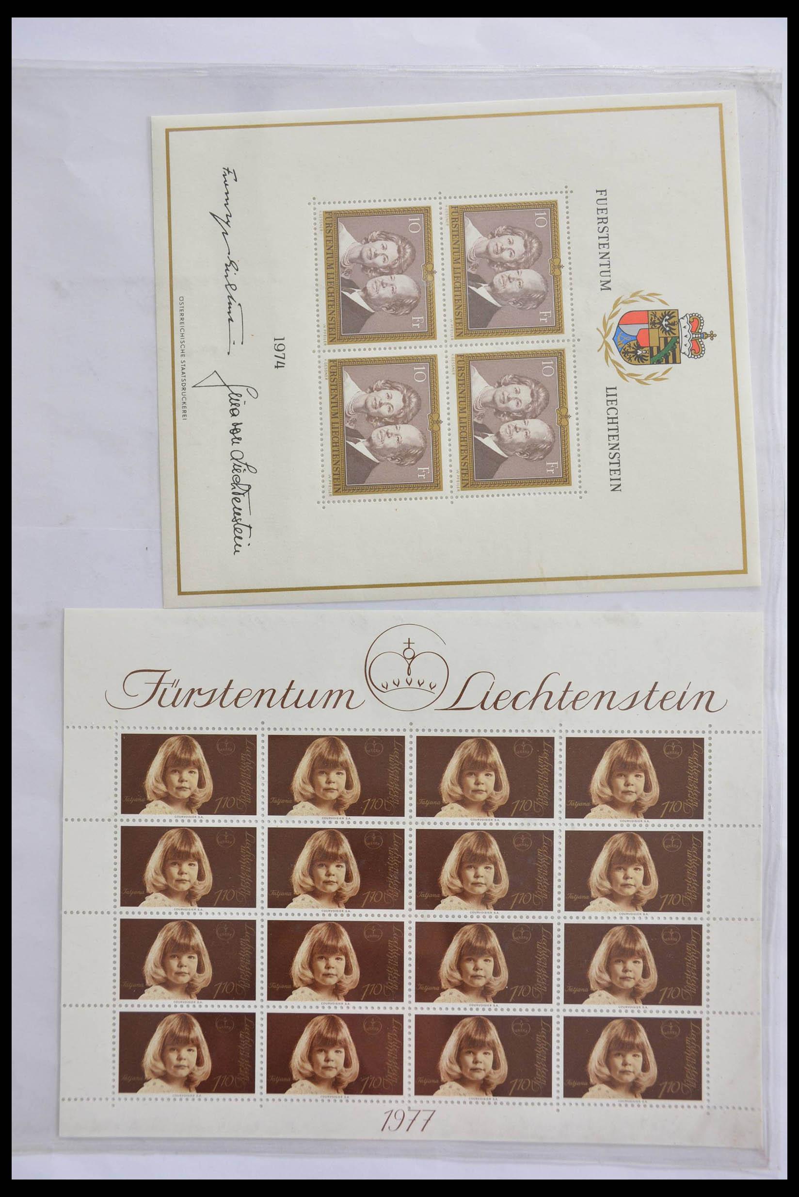 28472 002 - 28472 Liechtenstein 1973-1985.
