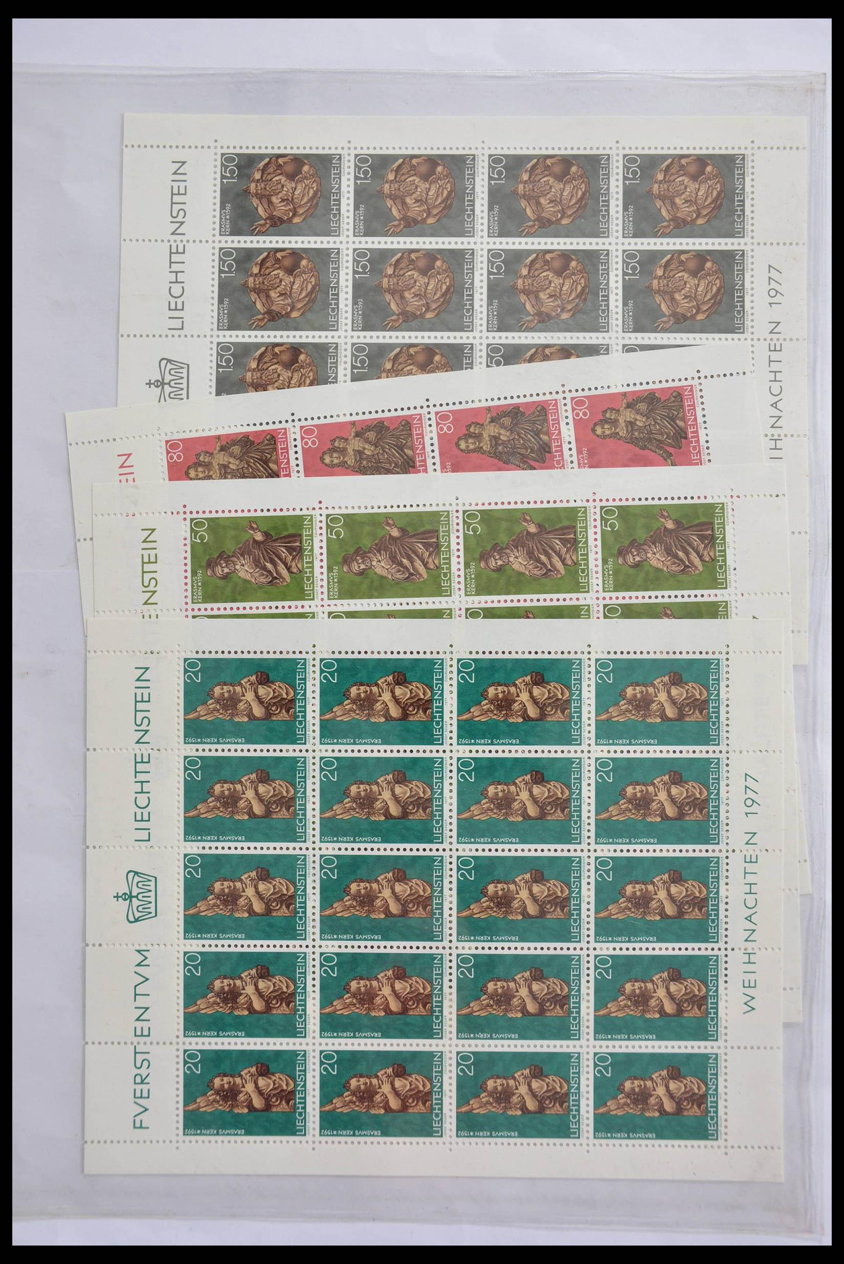 28472 003 - 28472 Liechtenstein 1973-1985.