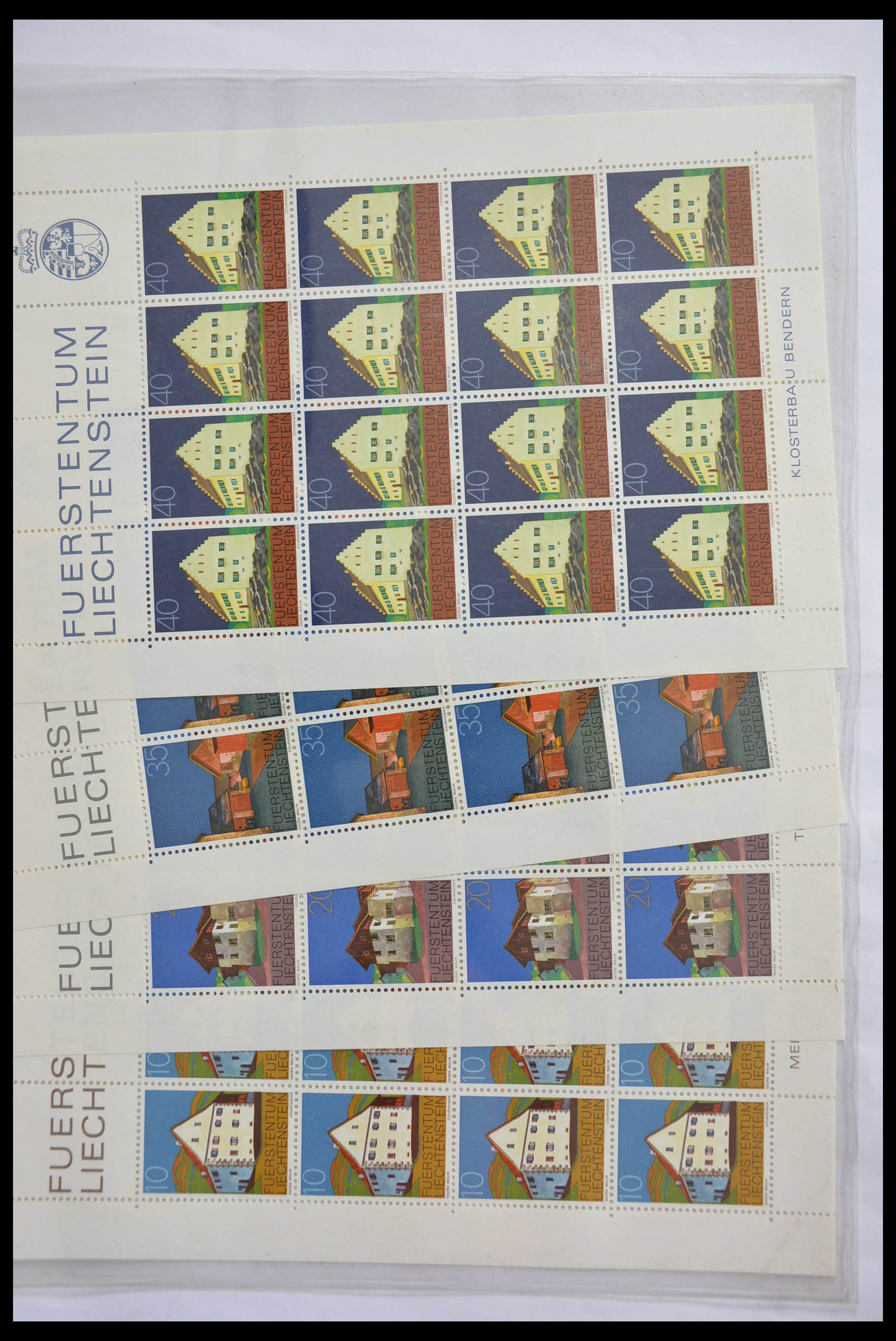 28472 006 - 28472 Liechtenstein 1973-1985.