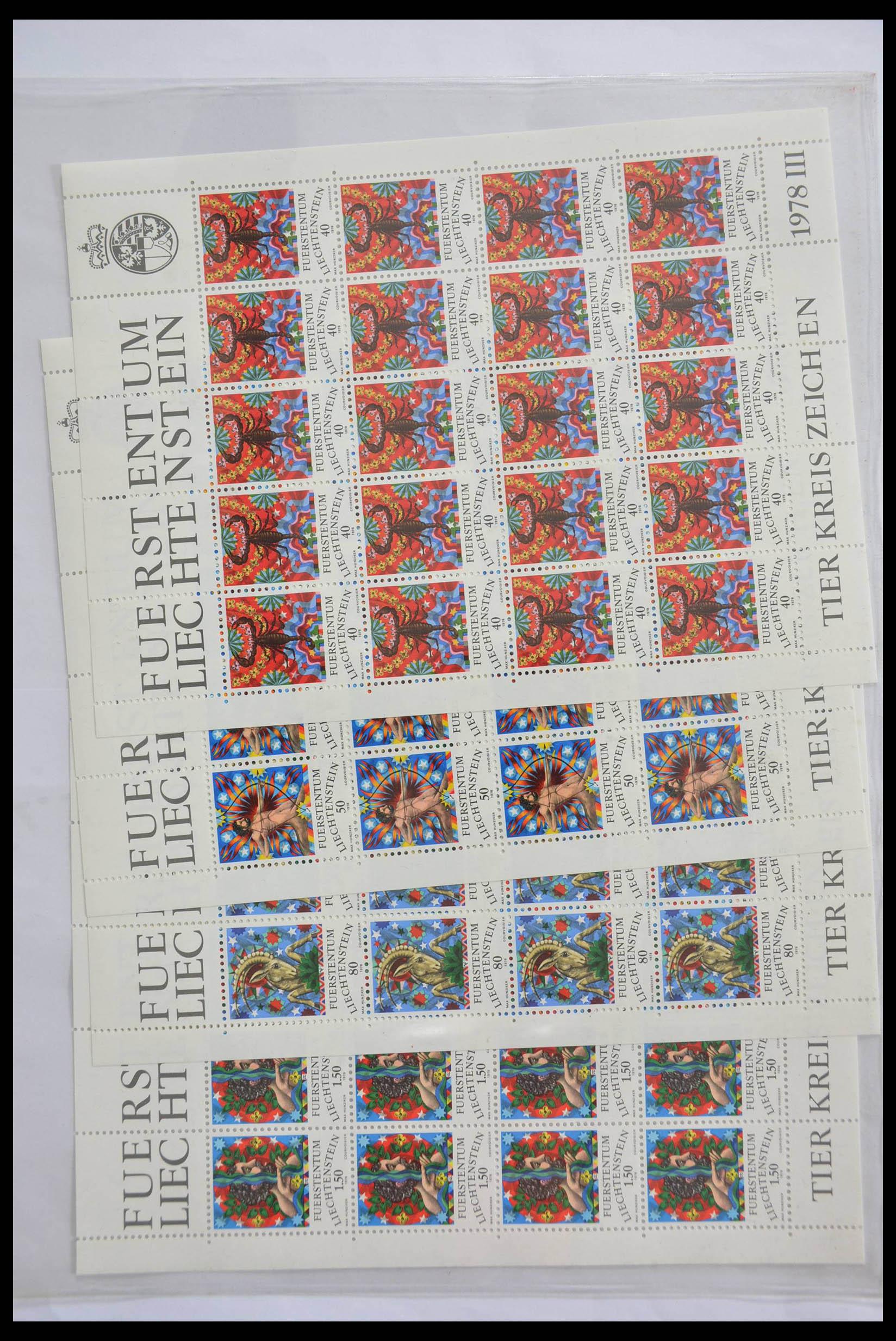 28472 010 - 28472 Liechtenstein 1973-1985.