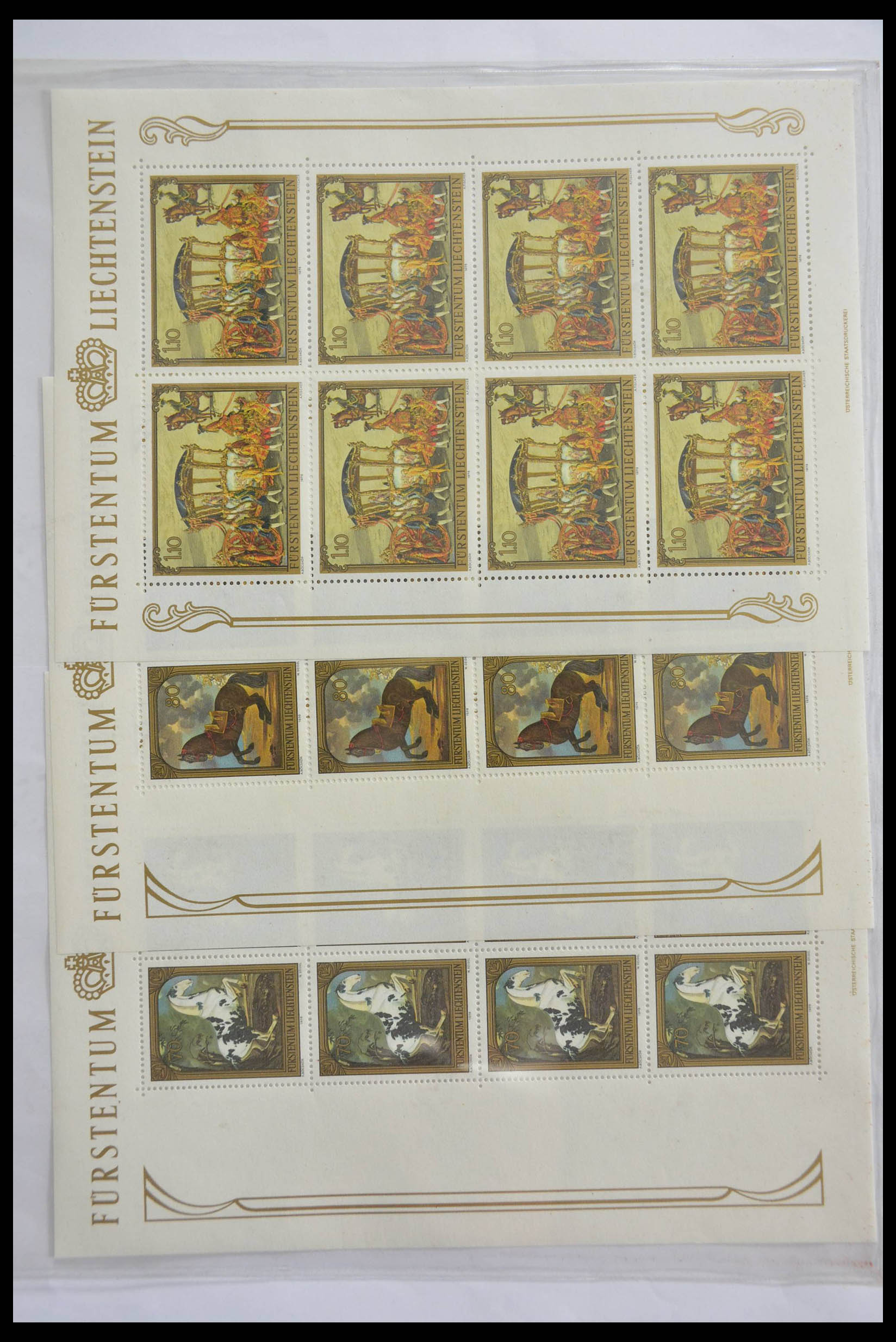 28472 011 - 28472 Liechtenstein 1973-1985.