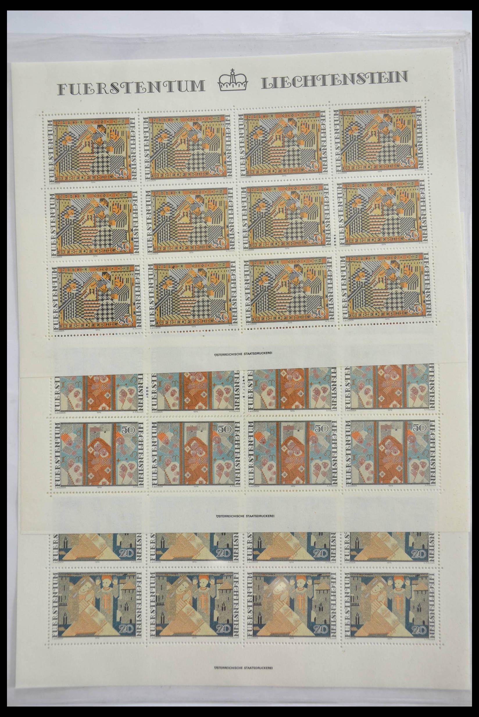 28472 017 - 28472 Liechtenstein 1973-1985.