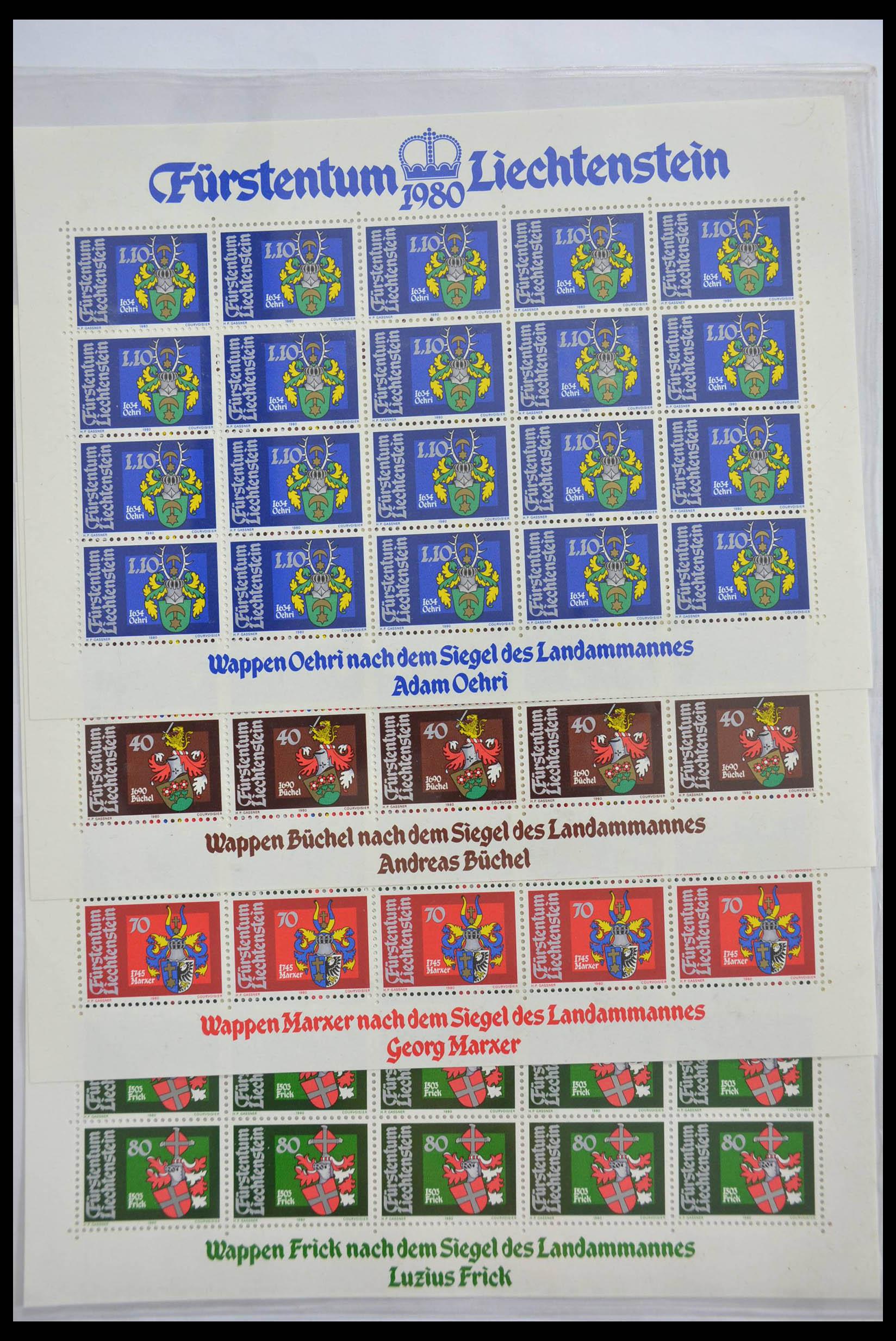 28472 020 - 28472 Liechtenstein 1973-1985.