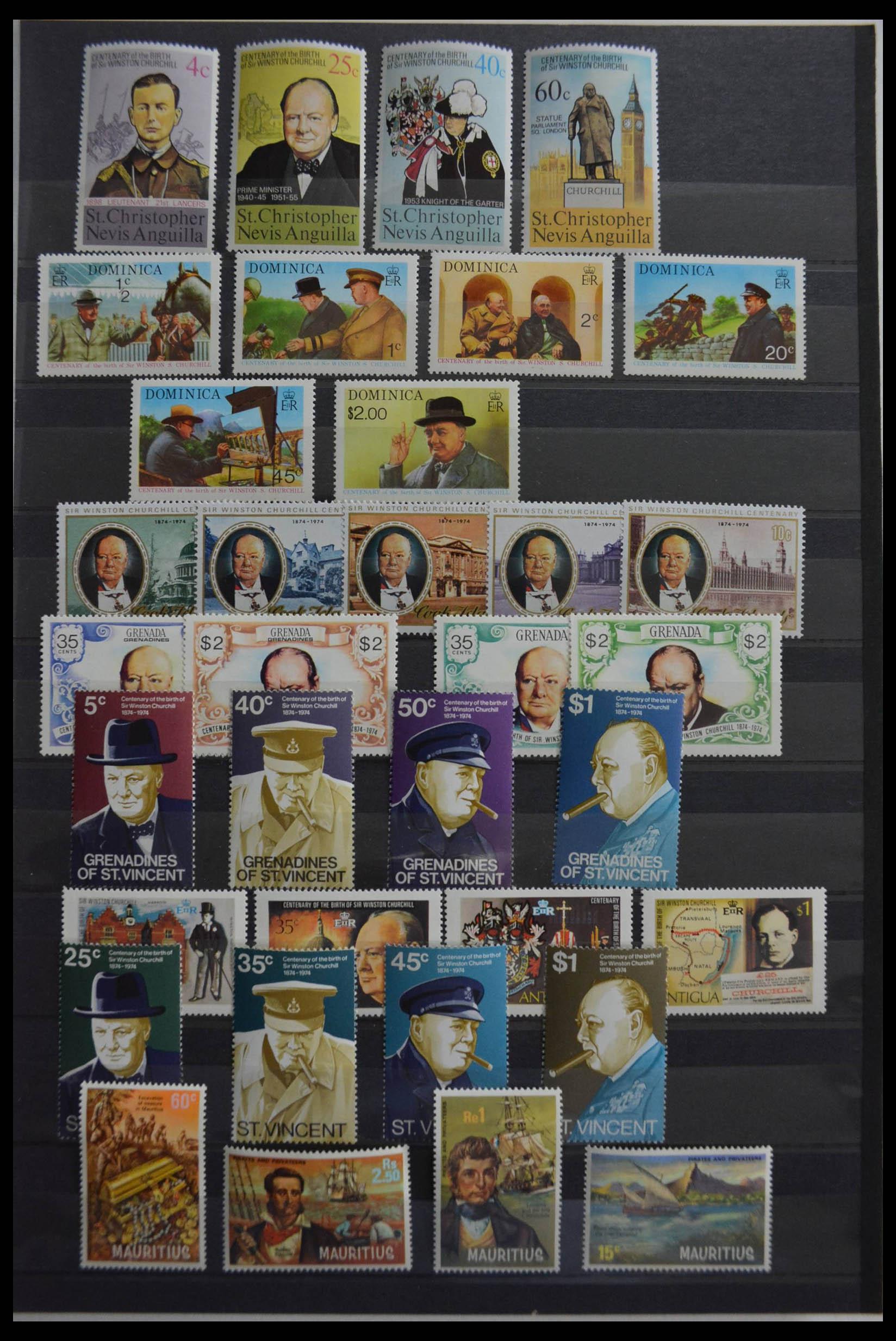 28512 001 - Postzegelverzameling 28512 Britse Gemenebest postfris.