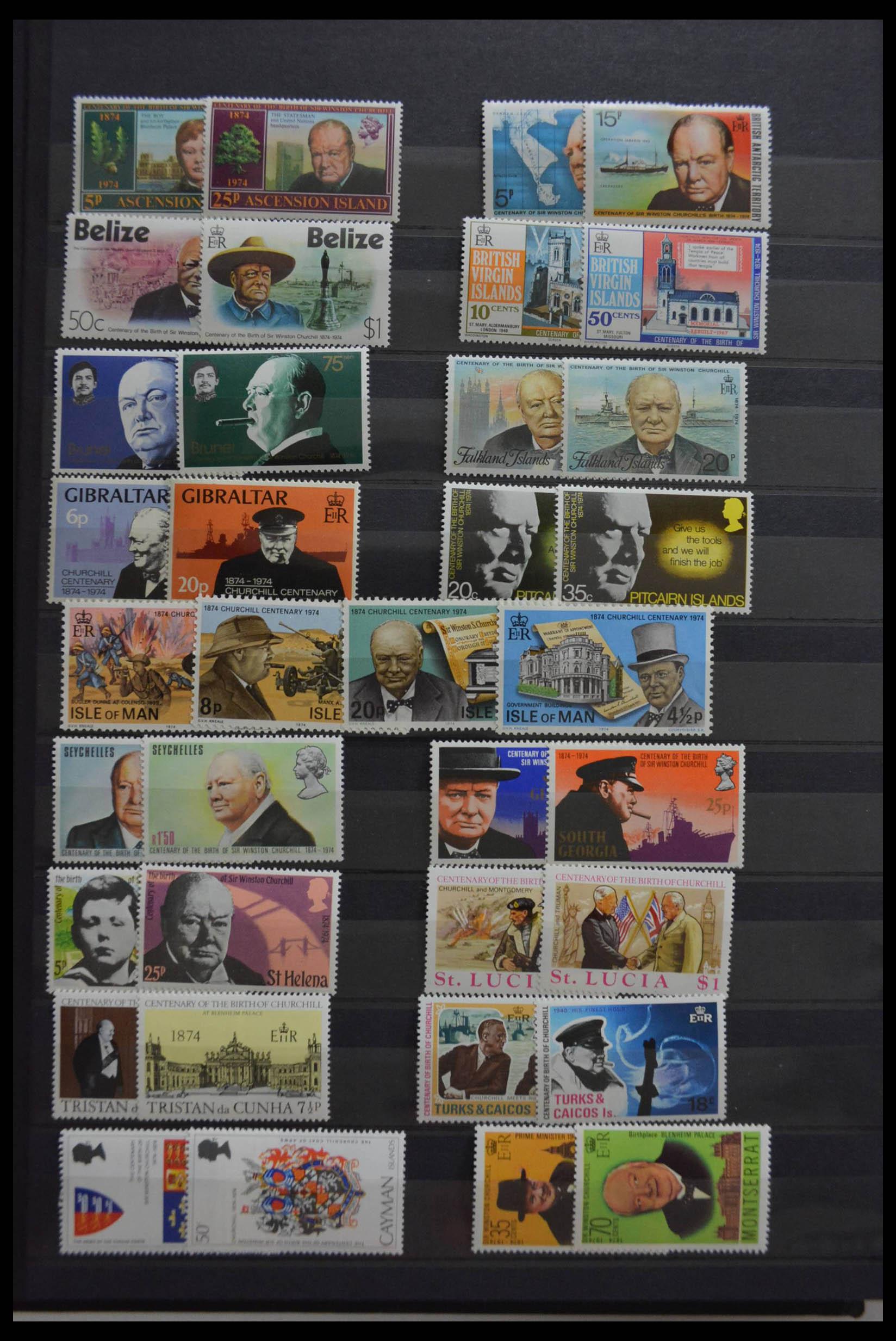 28512 002 - Postzegelverzameling 28512 Britse Gemenebest postfris.