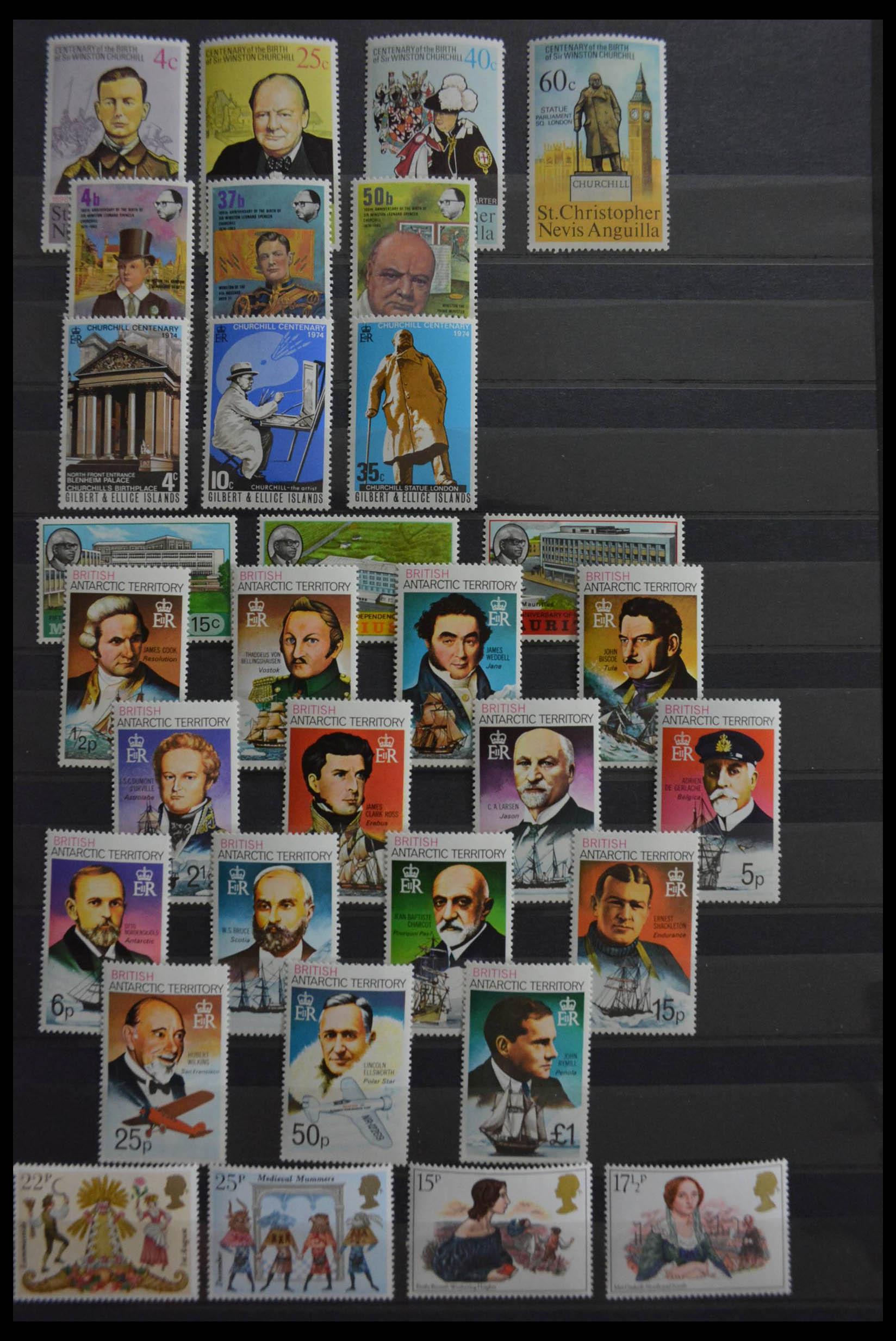 28512 003 - Postzegelverzameling 28512 Britse Gemenebest postfris.