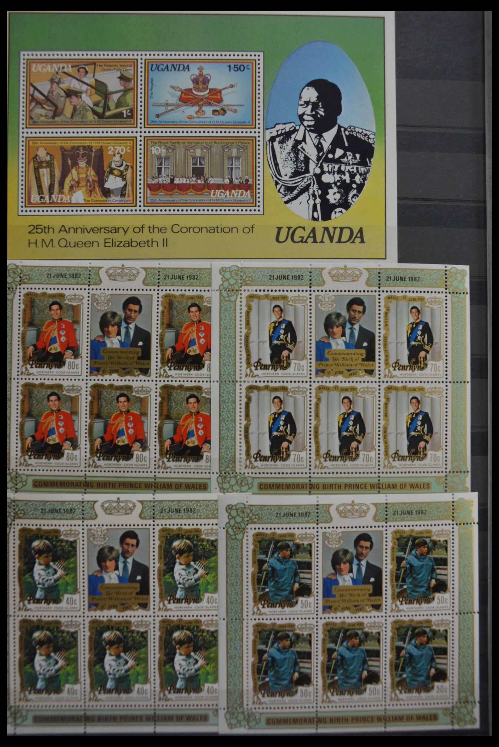 28512 006 - Postzegelverzameling 28512 Britse Gemenebest postfris.
