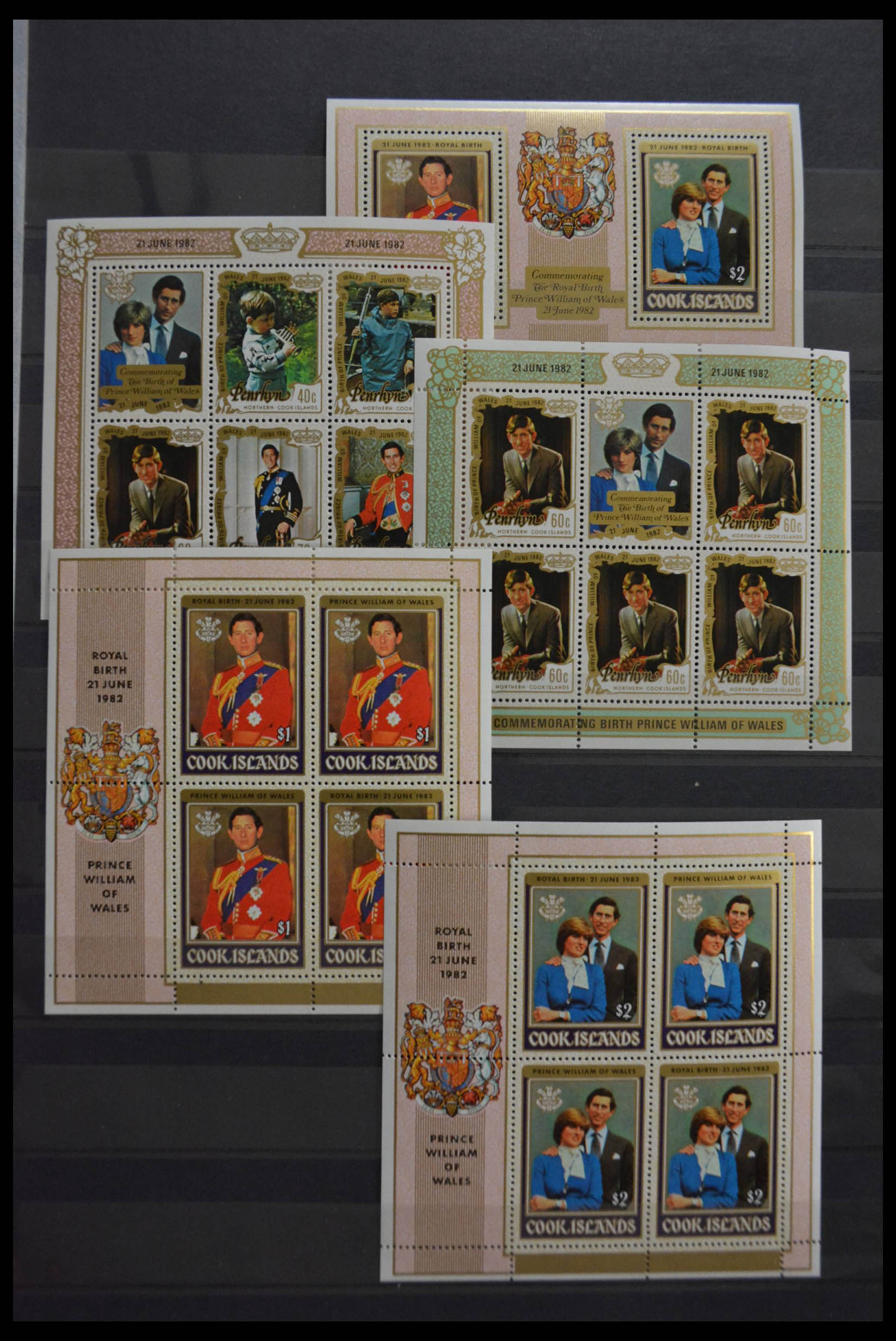 28512 007 - Postzegelverzameling 28512 Britse Gemenebest postfris.