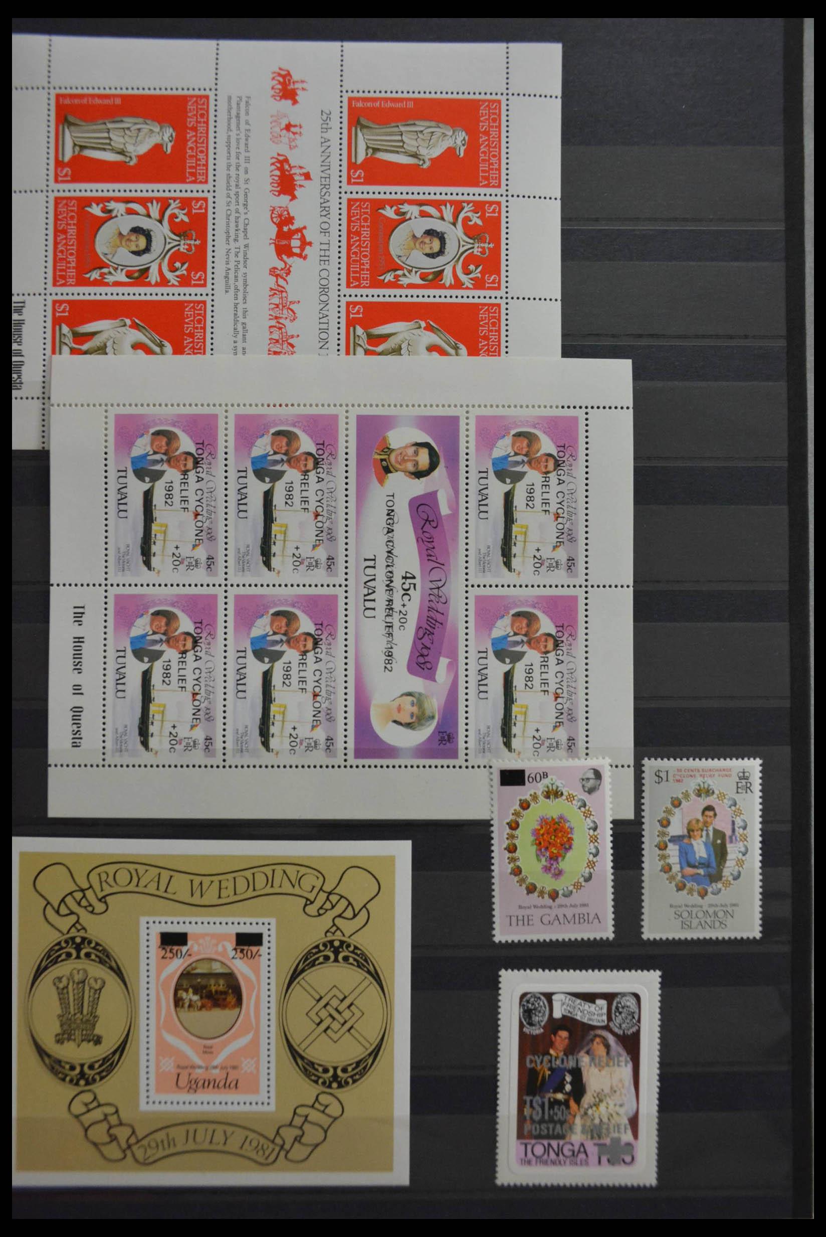 28512 013 - Postzegelverzameling 28512 Britse Gemenebest postfris.