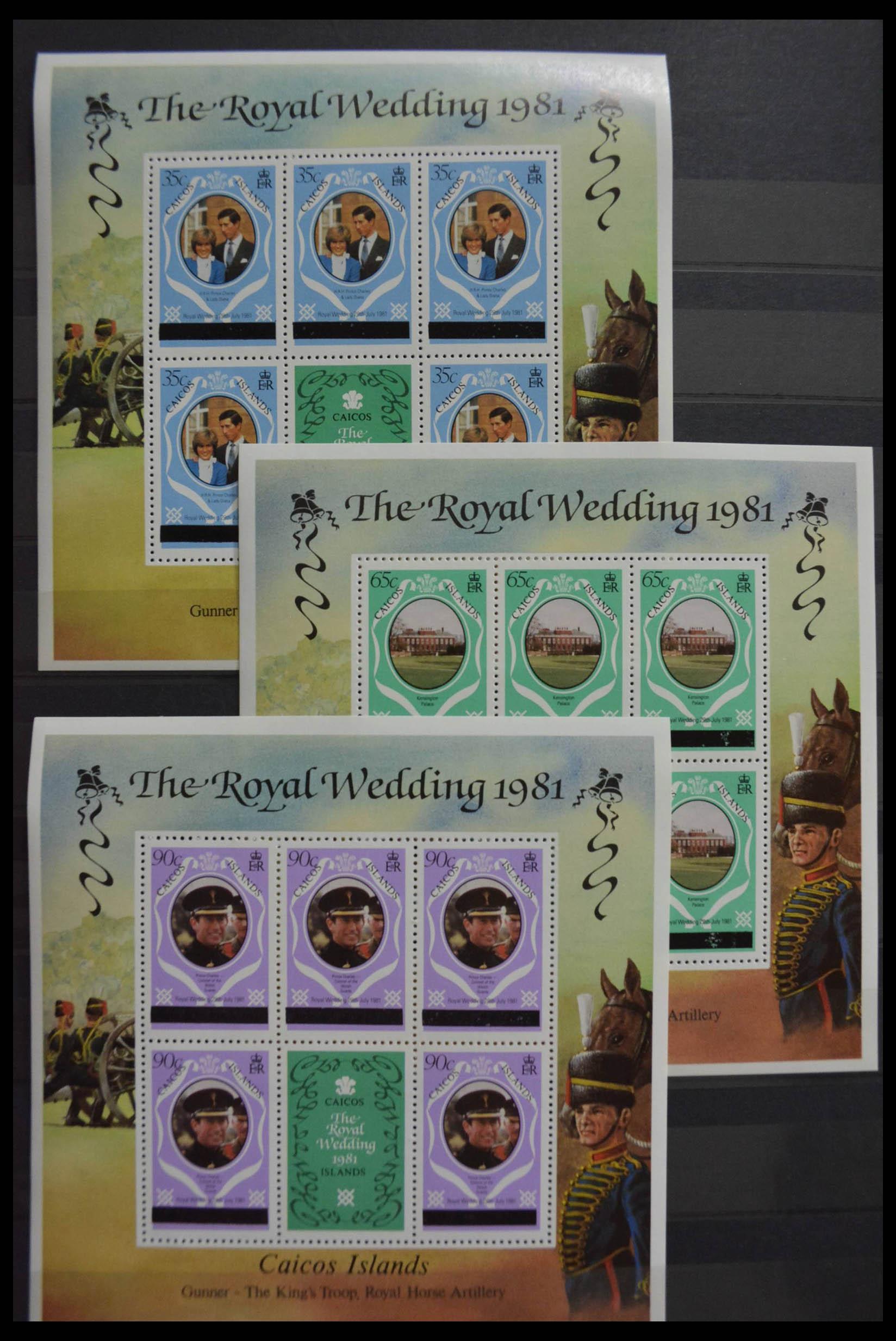 28512 014 - Postzegelverzameling 28512 Britse Gemenebest postfris.
