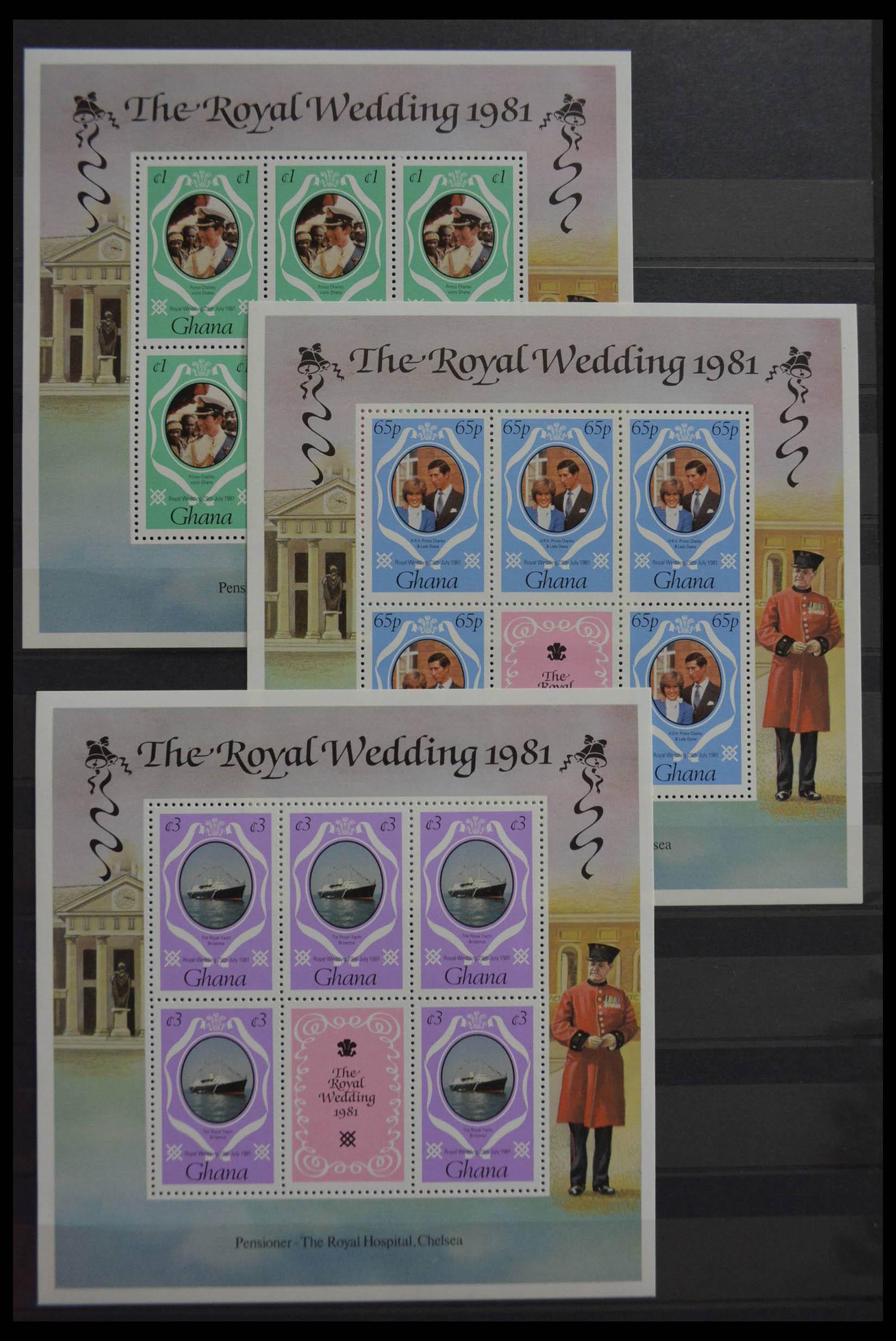 28512 015 - Postzegelverzameling 28512 Britse Gemenebest postfris.