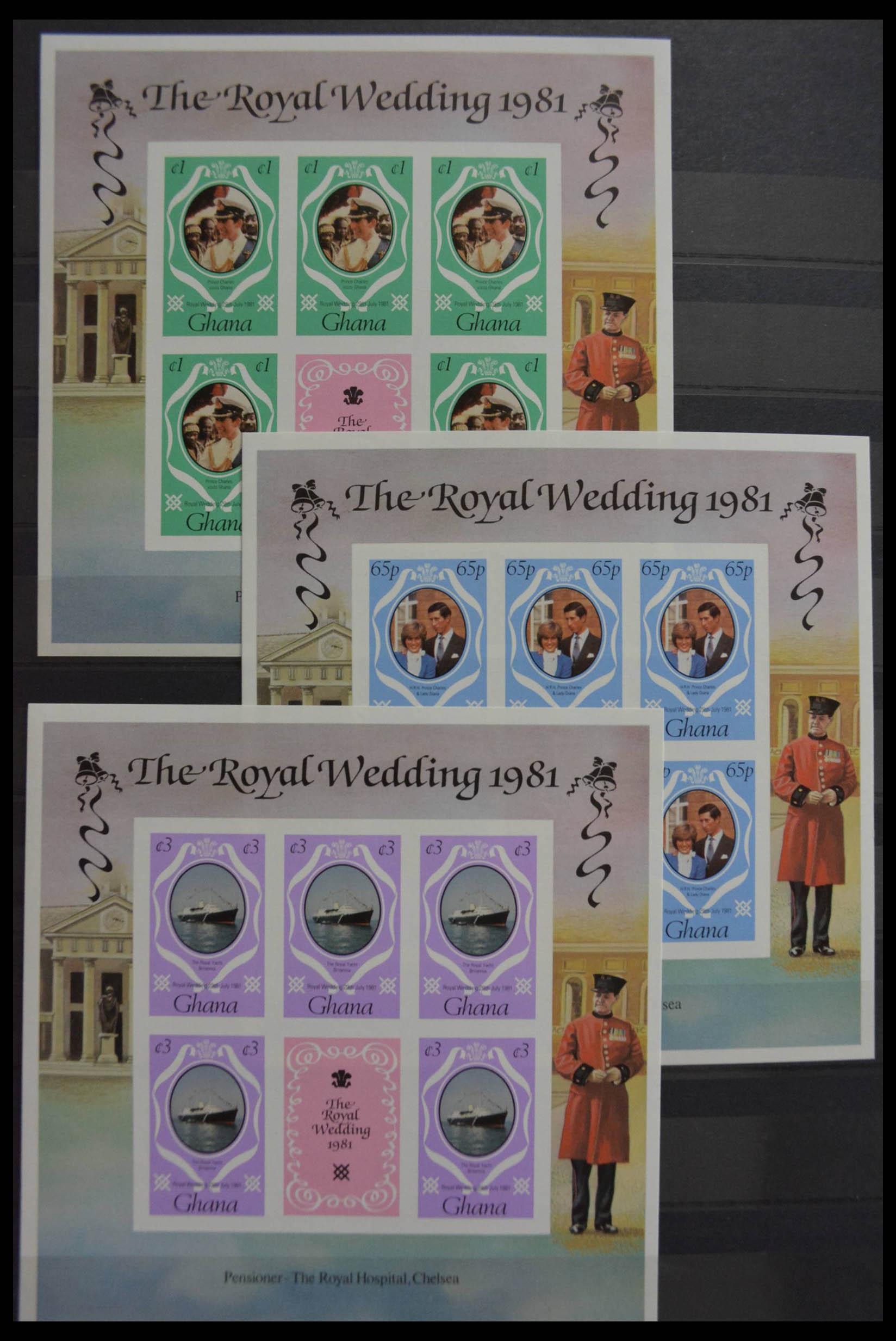 28512 016 - Postzegelverzameling 28512 Britse Gemenebest postfris.