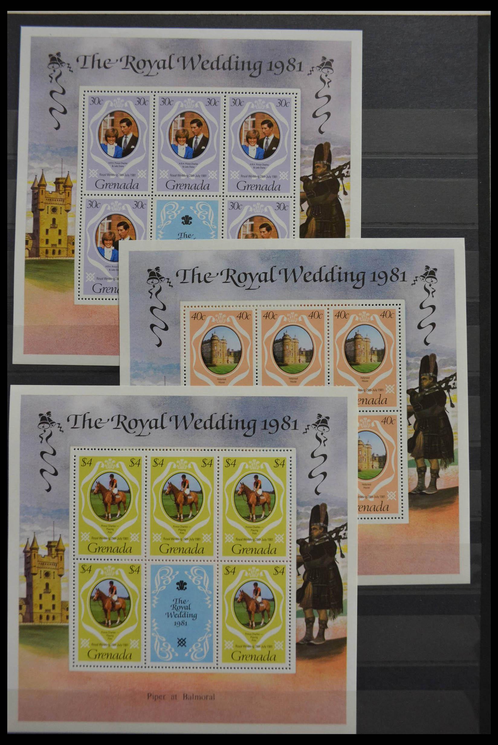28512 017 - Postzegelverzameling 28512 Britse Gemenebest postfris.