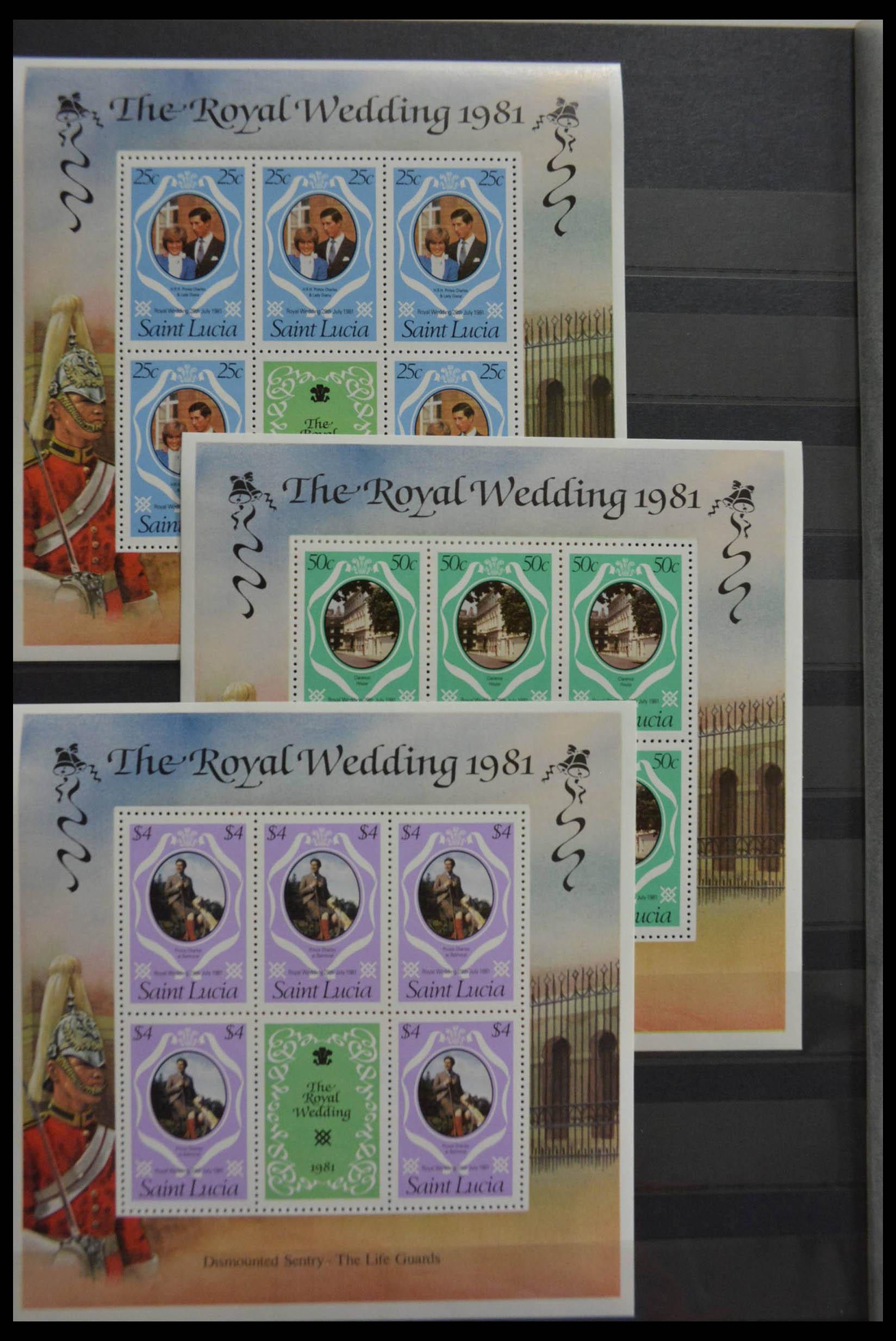 28512 018 - Postzegelverzameling 28512 Britse Gemenebest postfris.