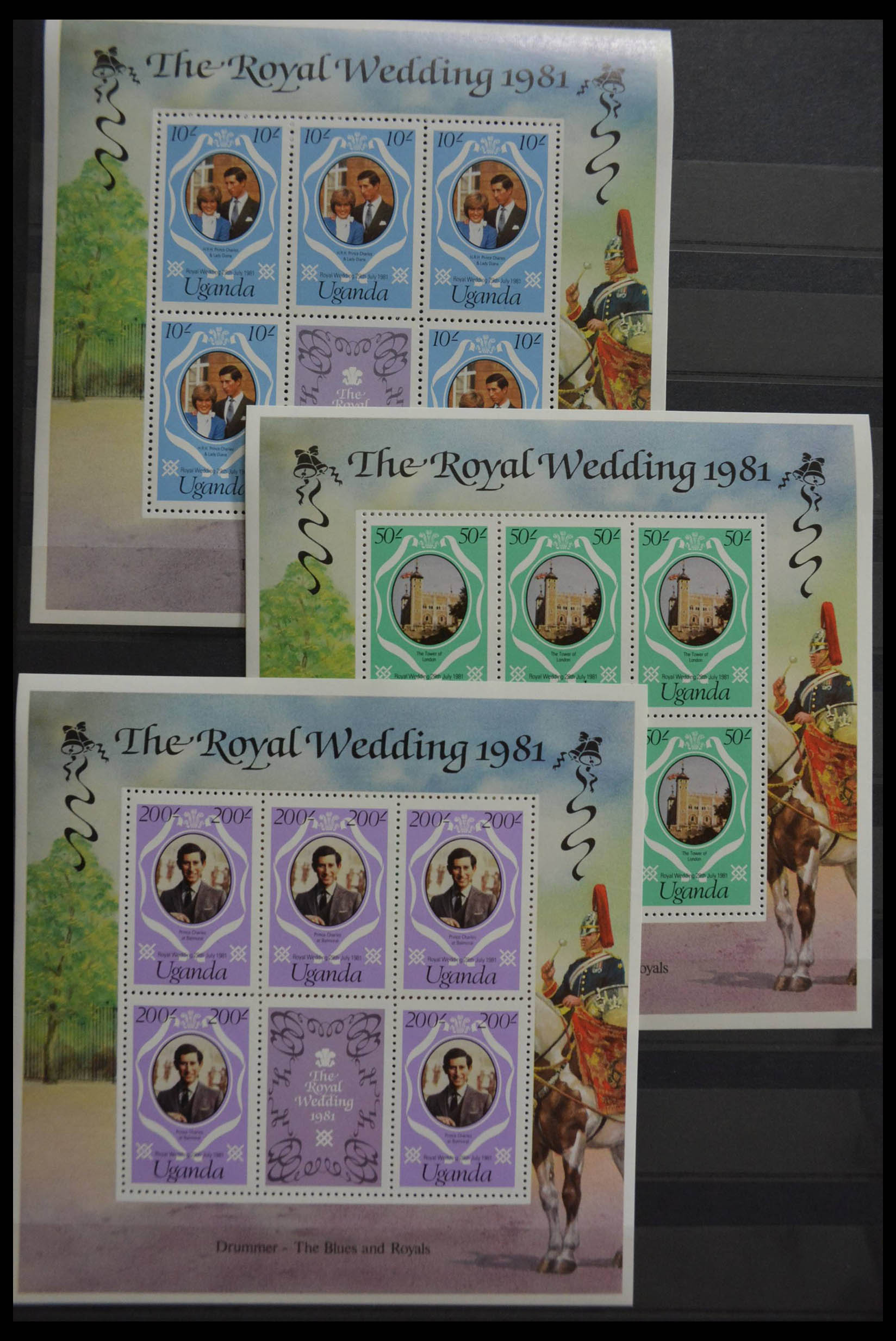 28512 020 - Postzegelverzameling 28512 Britse Gemenebest postfris.