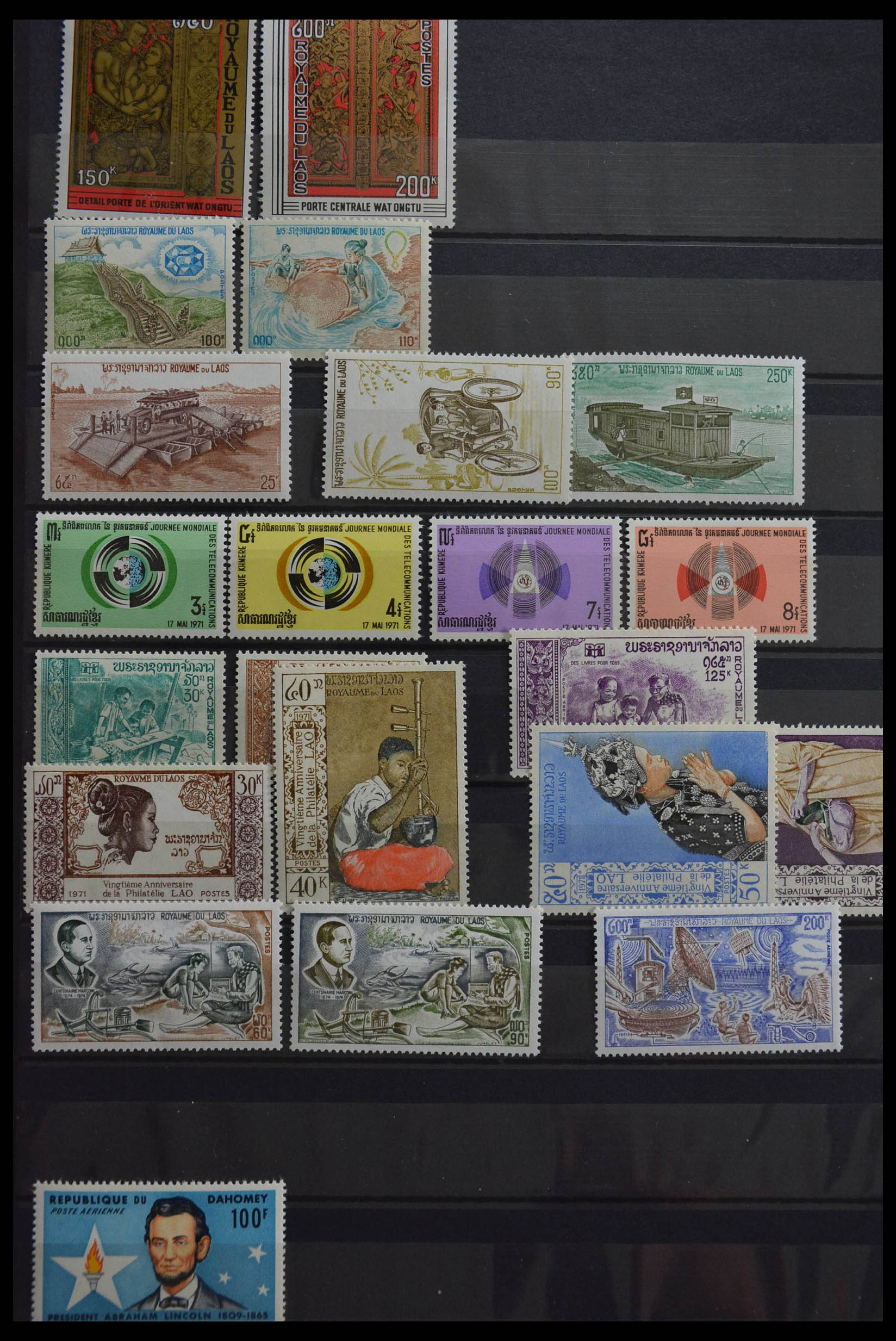 28518 008 - Stamp collection 28518 Africa.