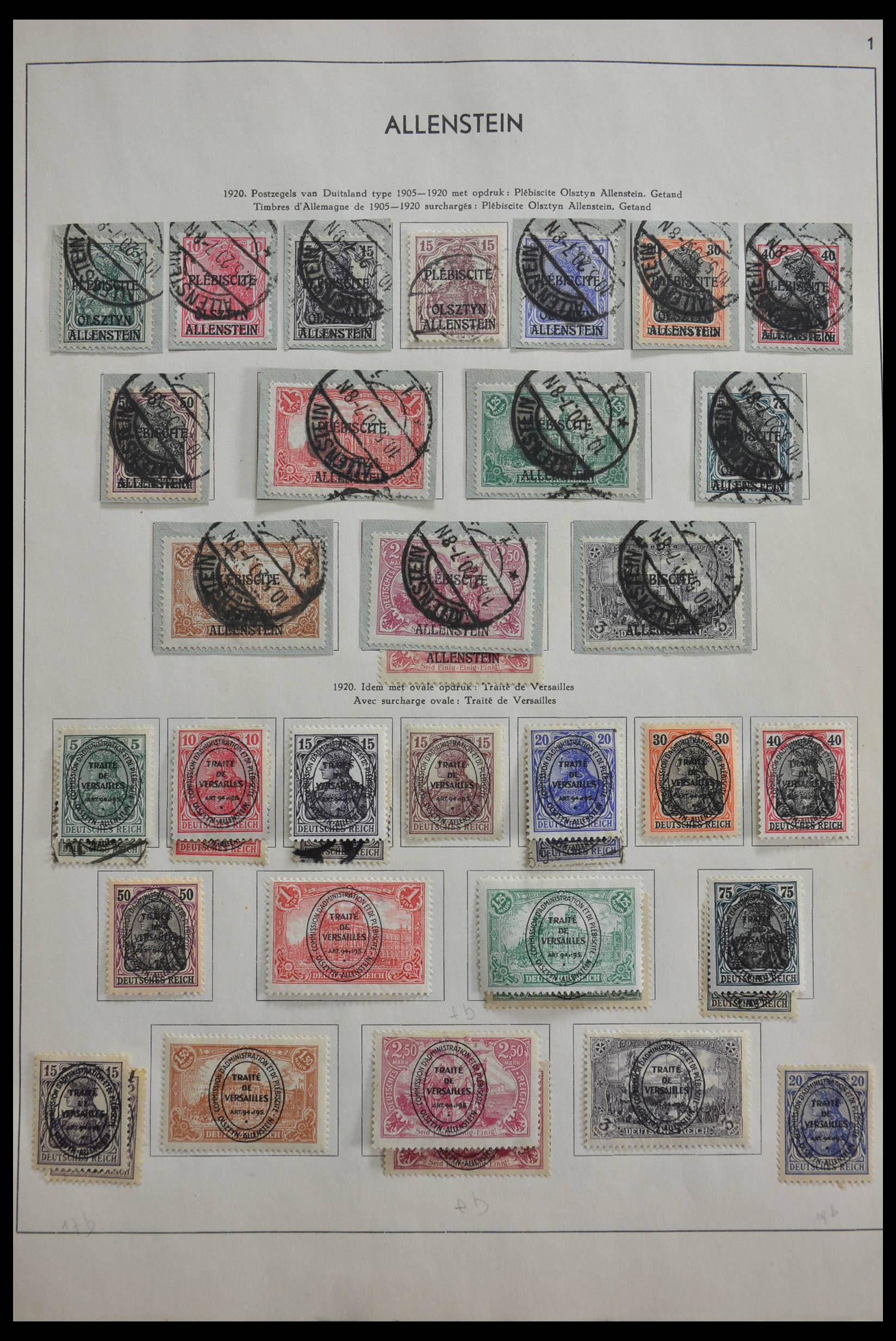 28566 001 - 28566 German territories 1914-1959.