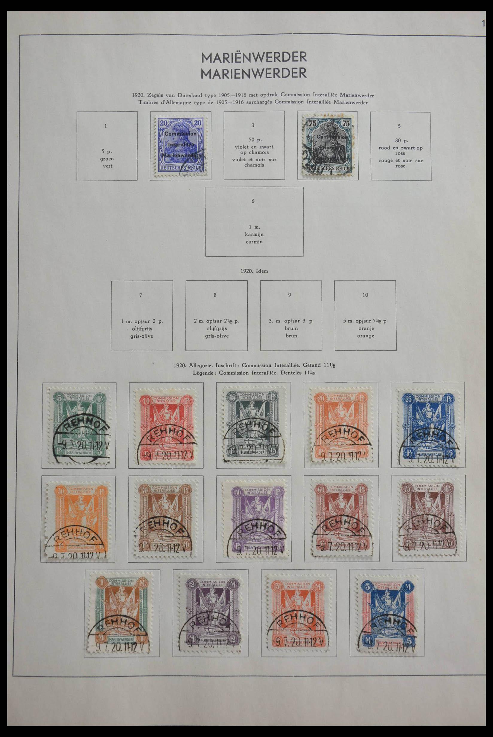 28566 002 - 28566 German territories 1914-1959.