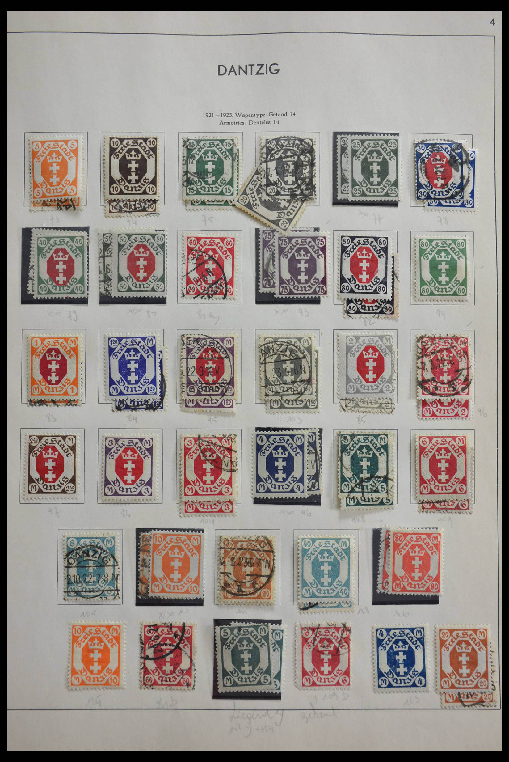 28566 012 - 28566 German territories 1914-1959.