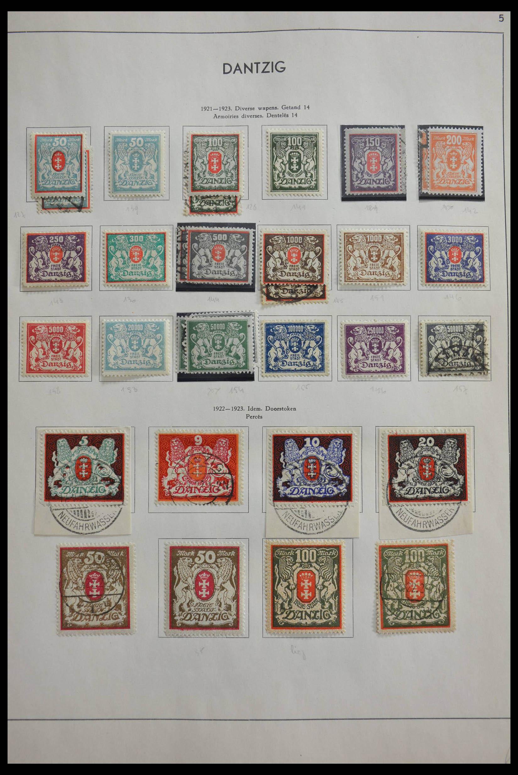 28566 013 - 28566 German territories 1914-1959.