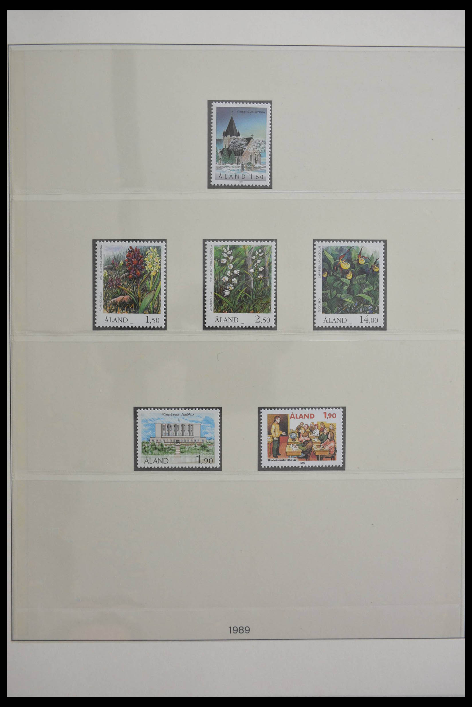 28584 006 - Stamp collection 28584 Aland 1984-2011.