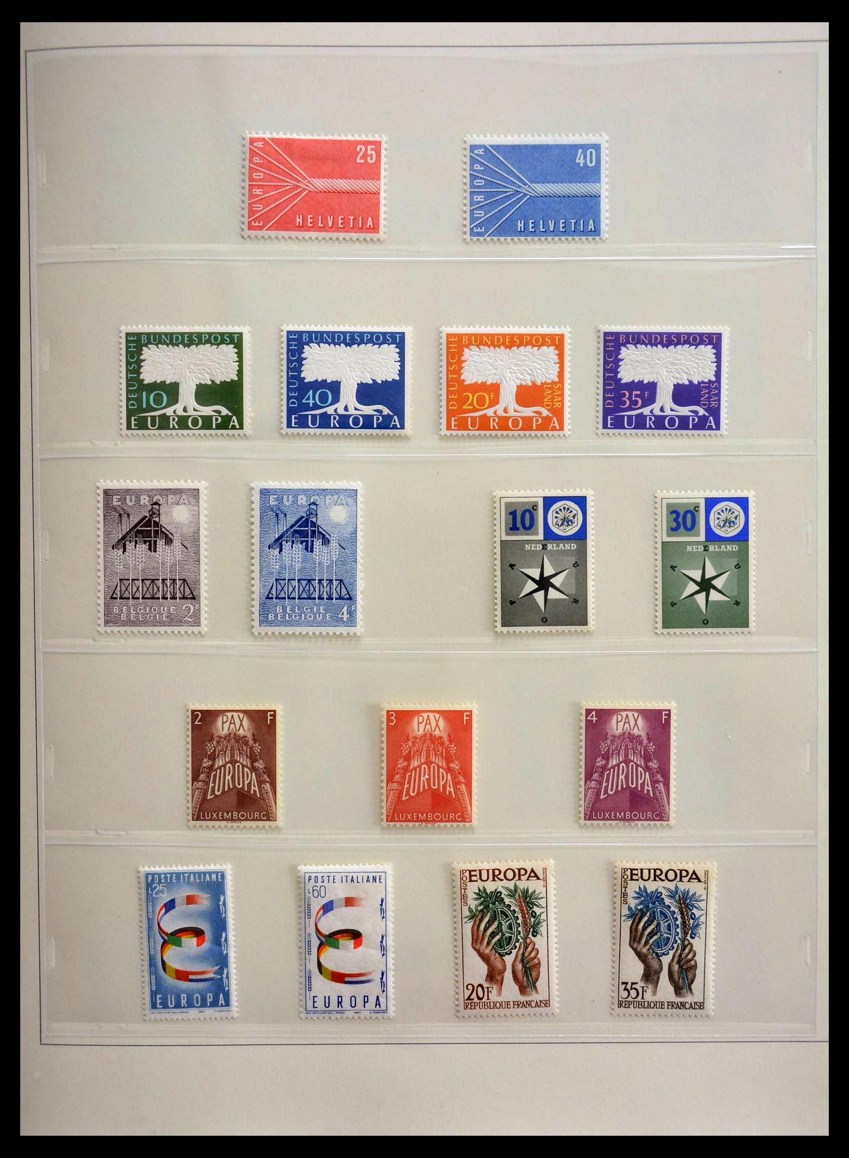 28637 002 - 28637 Europe Cept 1956-2000.
