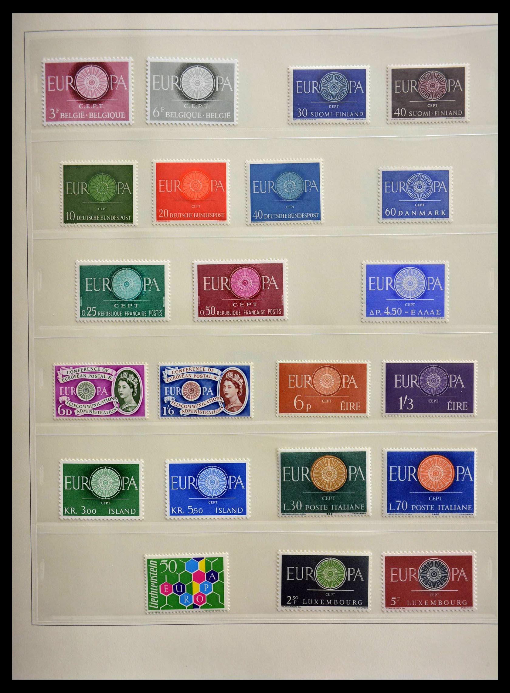 28637 005 - 28637 Europe Cept 1956-2000.