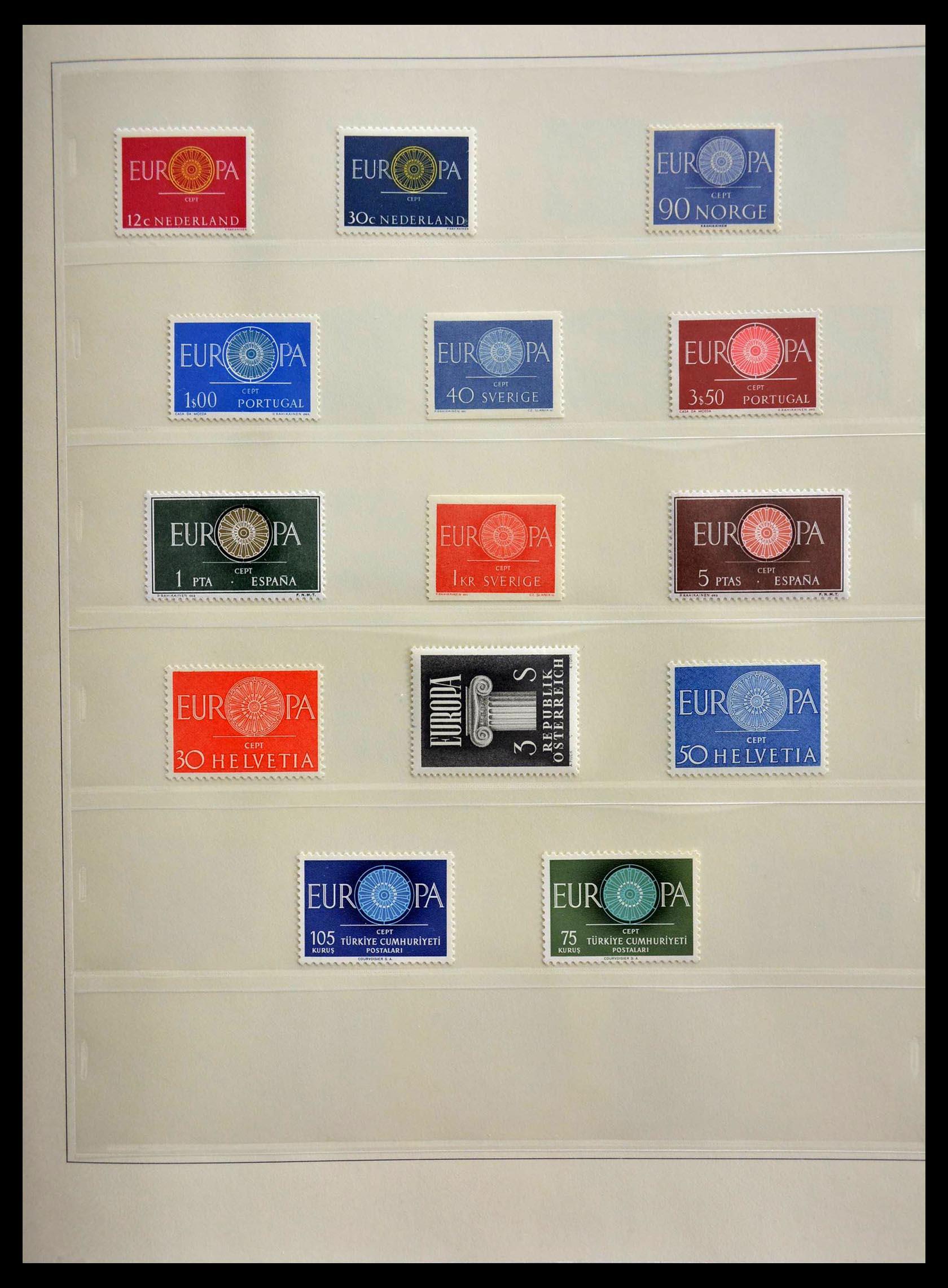28637 006 - 28637 Europe Cept 1956-2000.