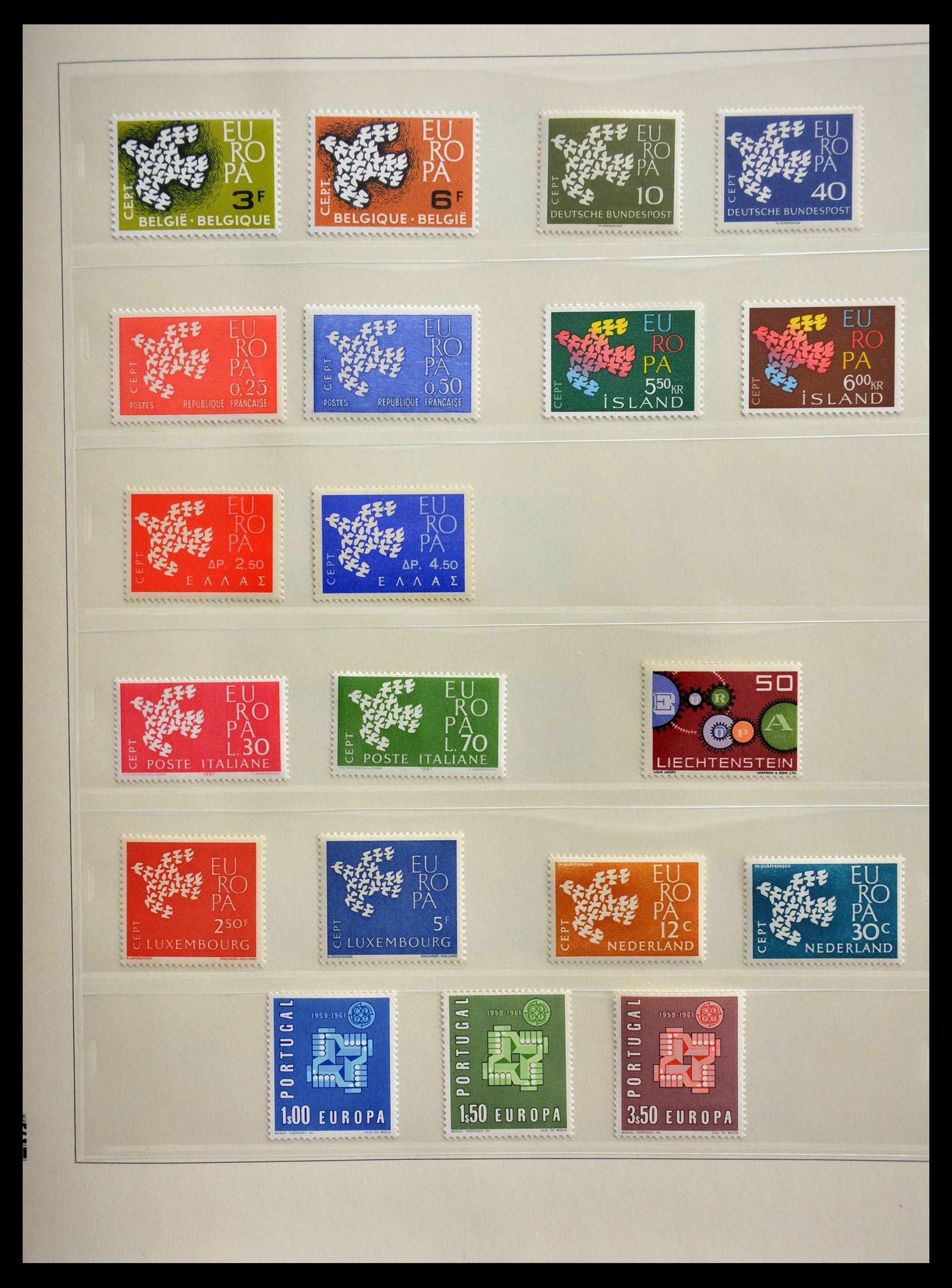 28637 007 - 28637 Europe Cept 1956-2000.