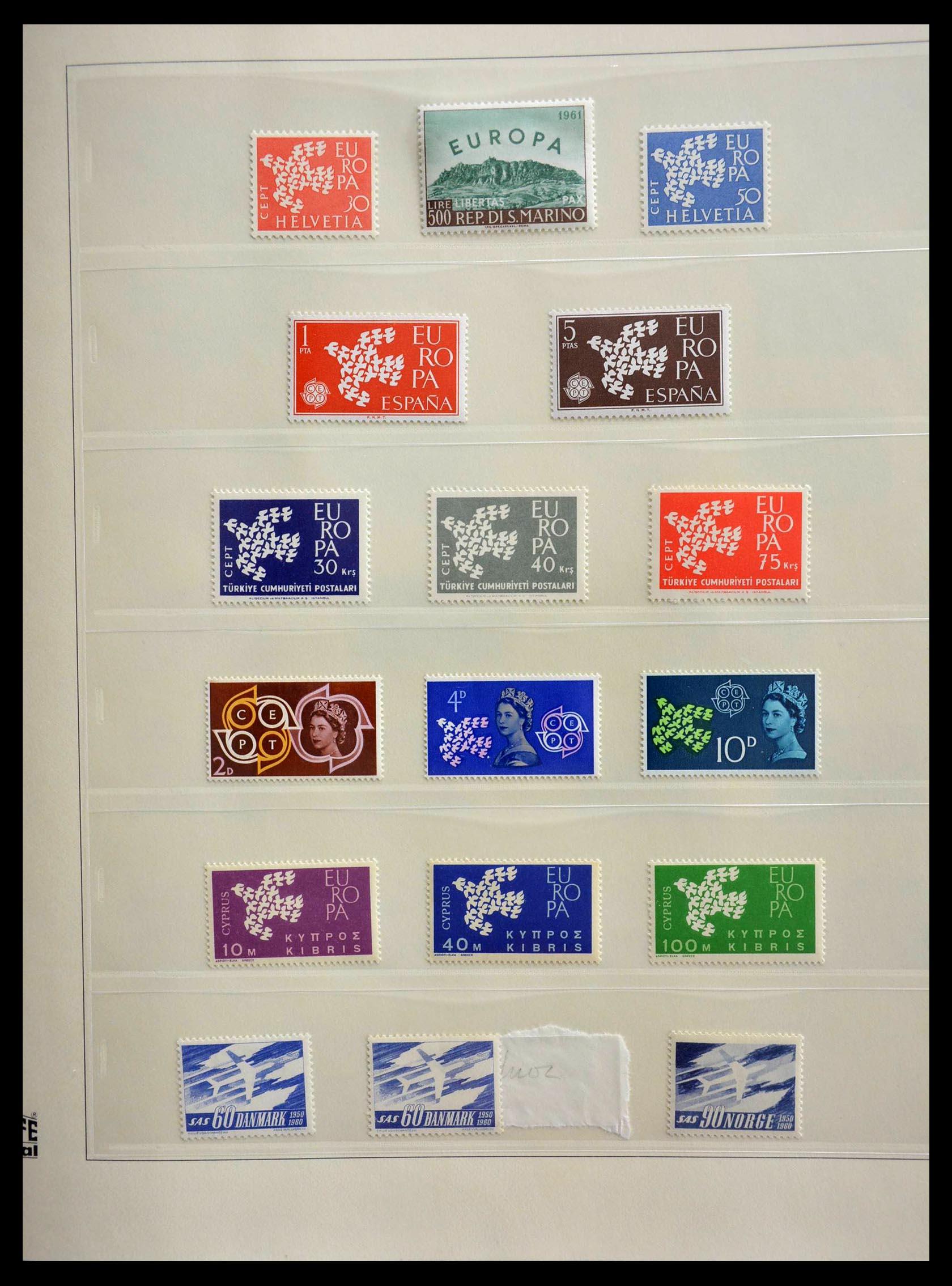28637 008 - 28637 Europe Cept 1956-2000.
