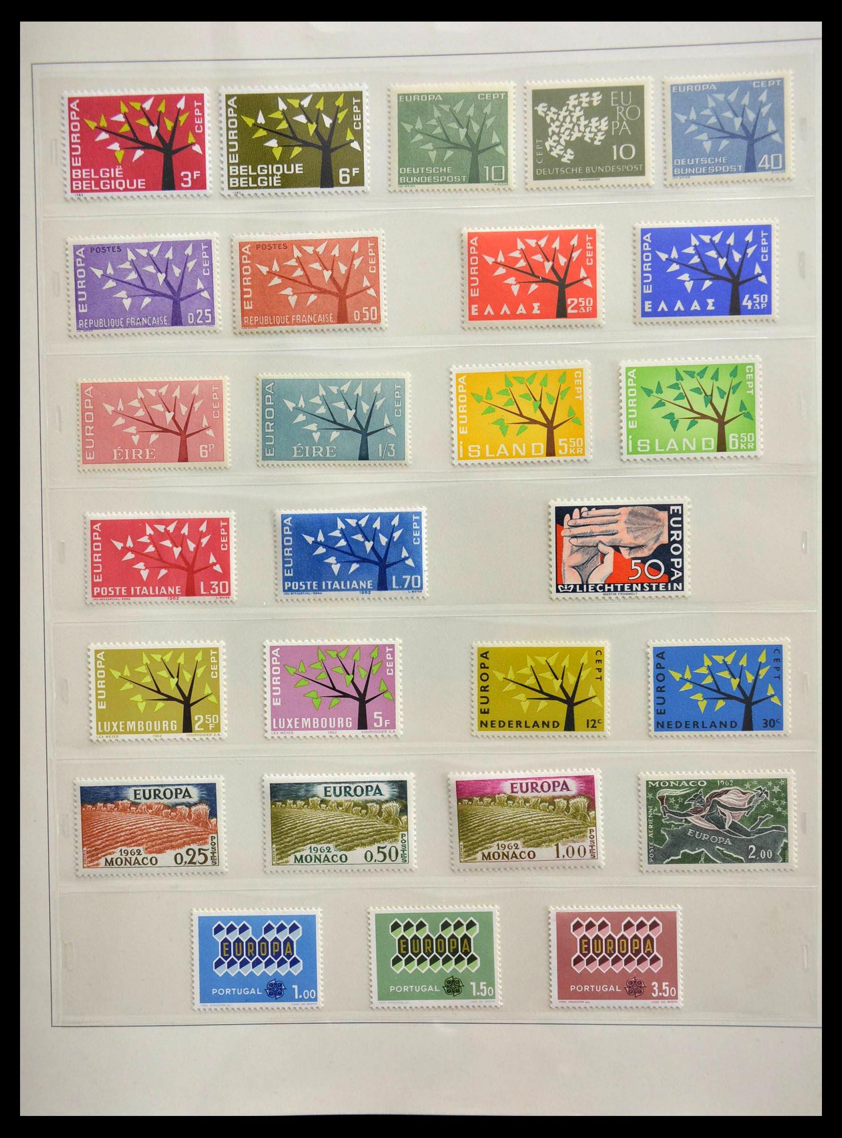 28637 009 - 28637 Europe Cept 1956-2000.