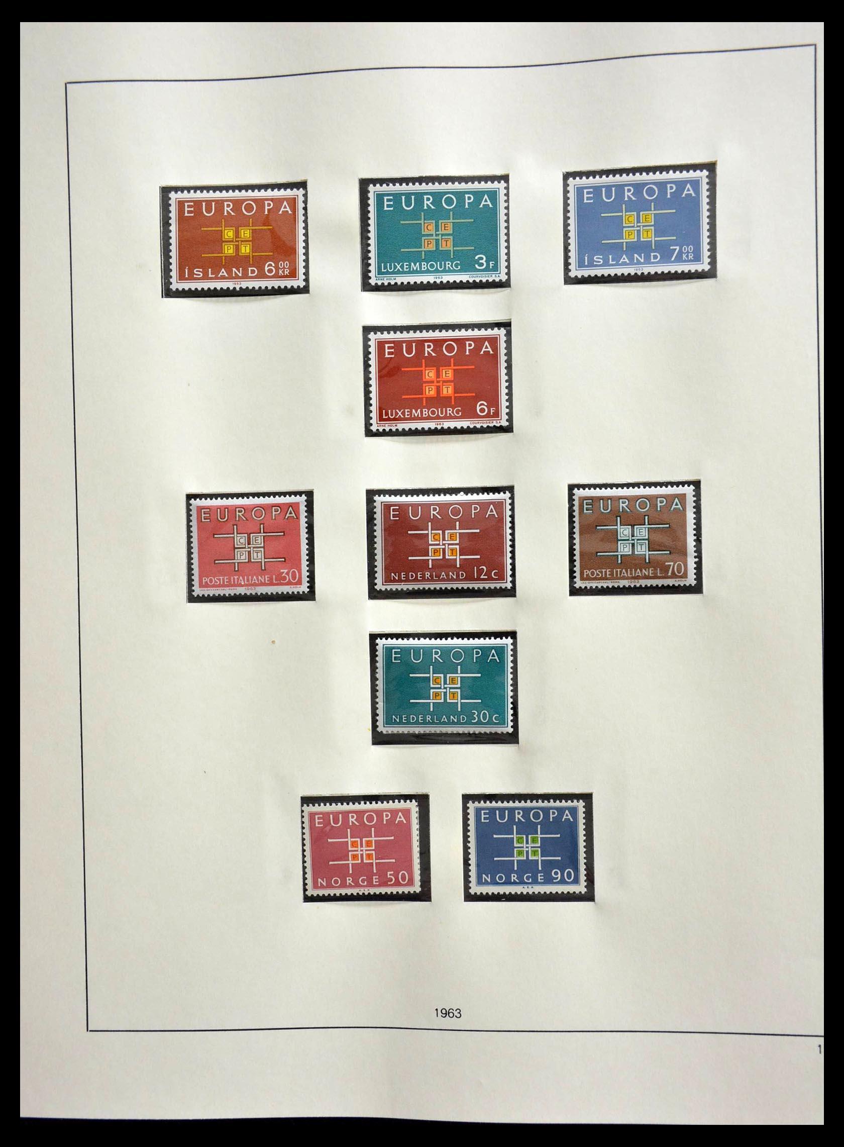 28637 012 - 28637 Europe Cept 1956-2000.