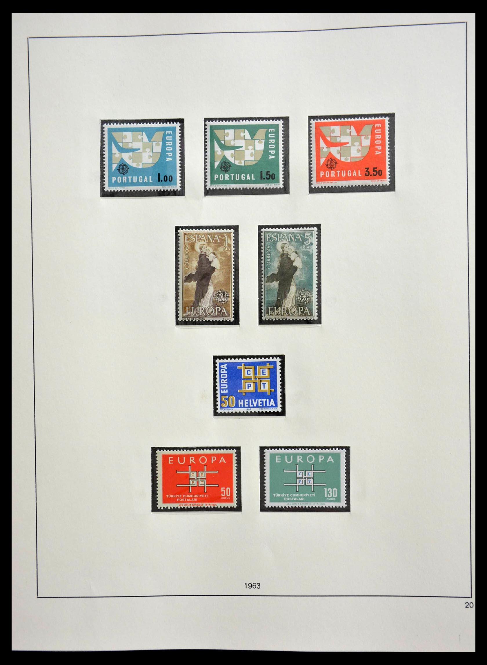 28637 013 - 28637 Europe Cept 1956-2000.