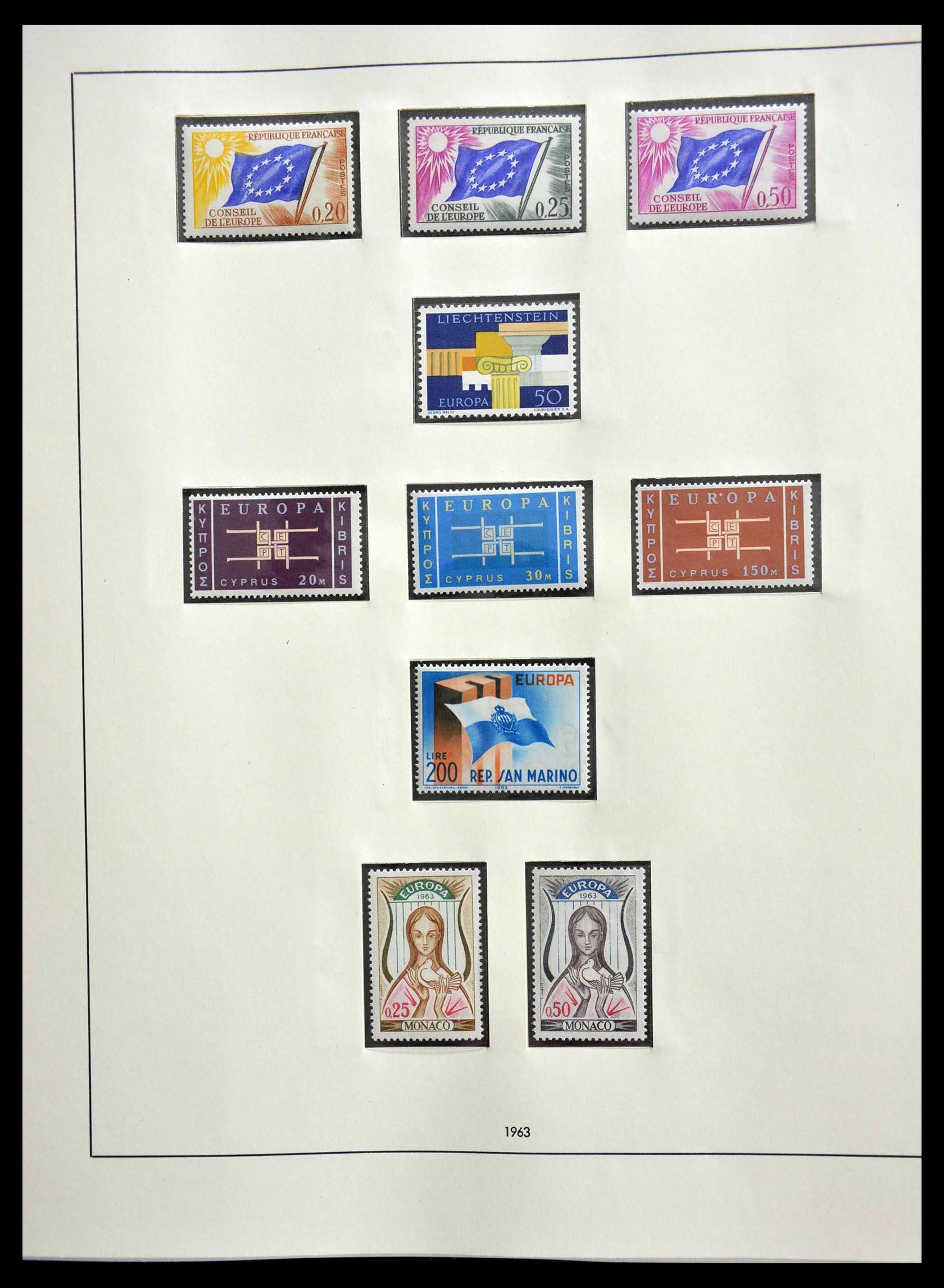 28637 014 - 28637 Europe Cept 1956-2000.