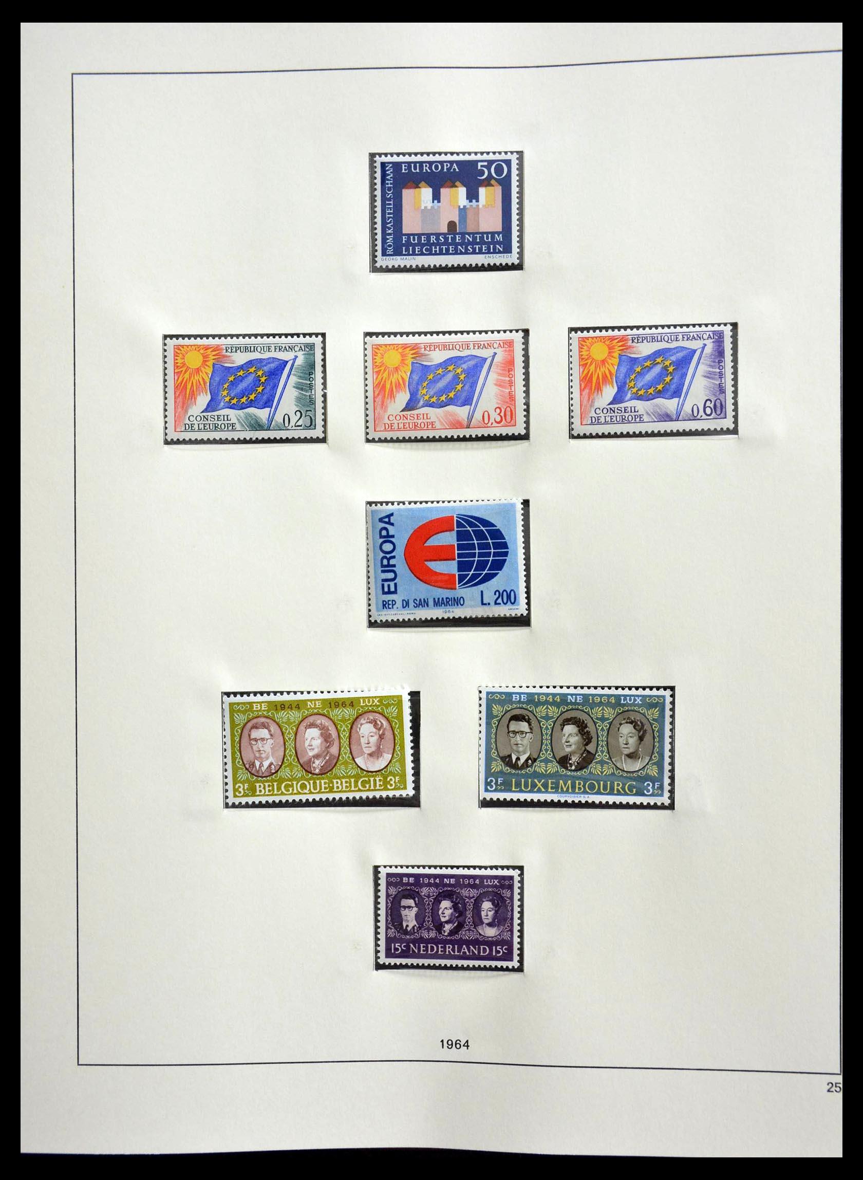 28637 018 - 28637 Europe Cept 1956-2000.