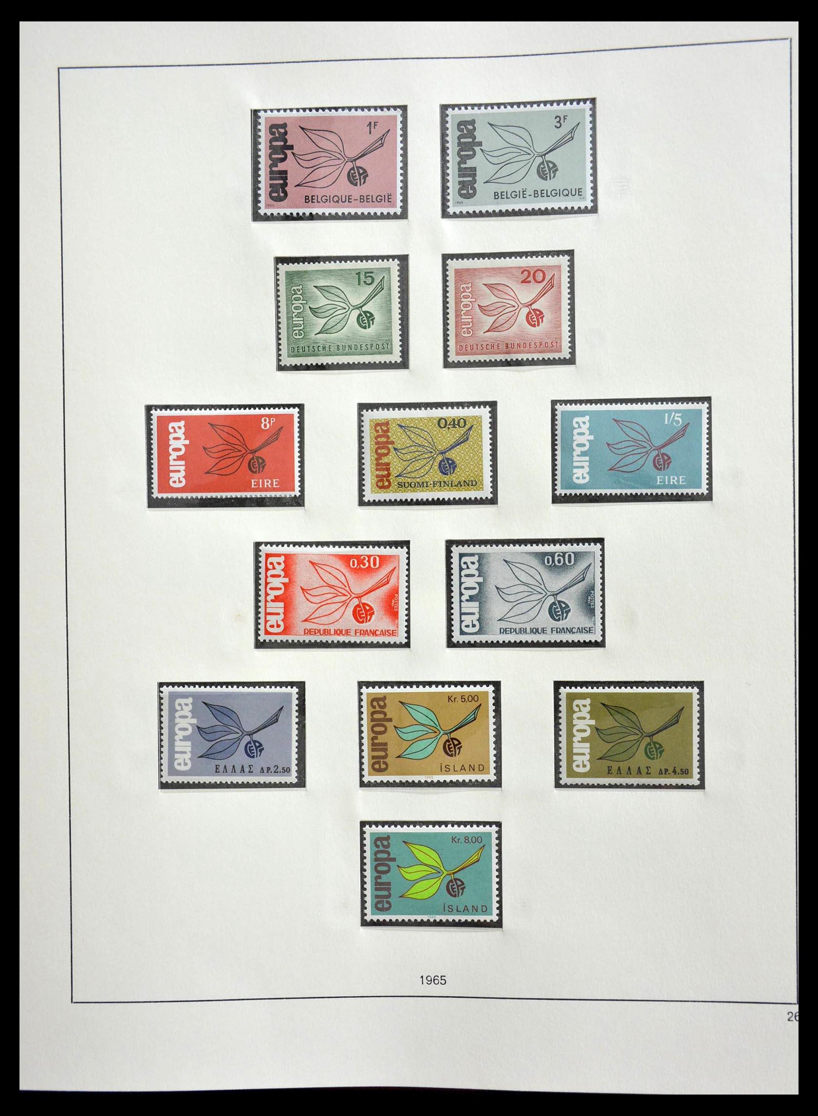28637 019 - 28637 Europe Cept 1956-2000.