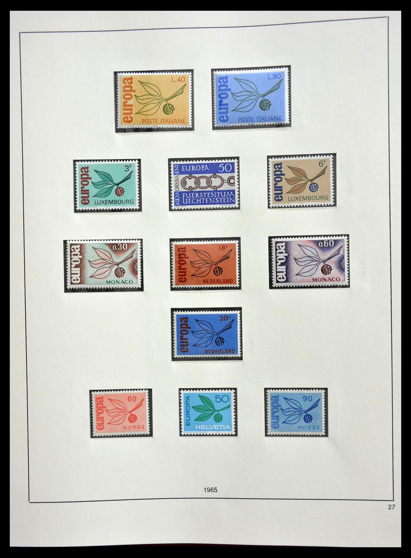 28637 020 - 28637 Europe Cept 1956-2000.