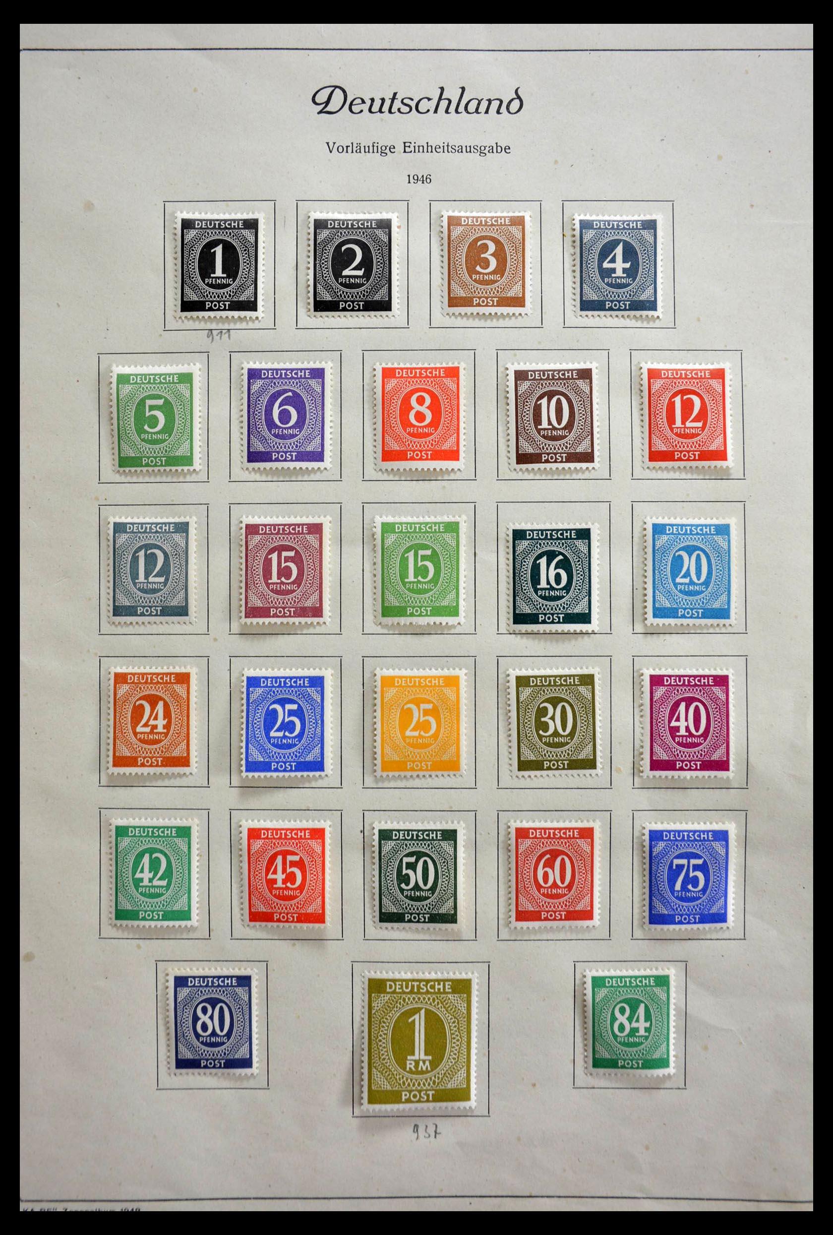 28685 001 - 28685 Germany 1946-1969.