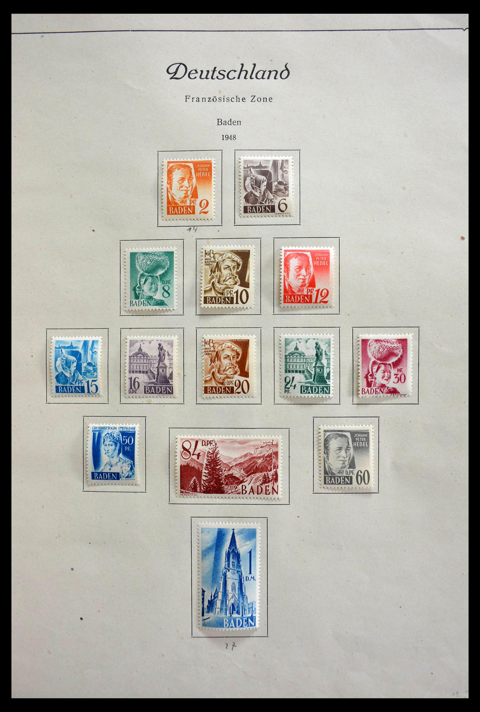 28685 007 - 28685 Germany 1946-1969.