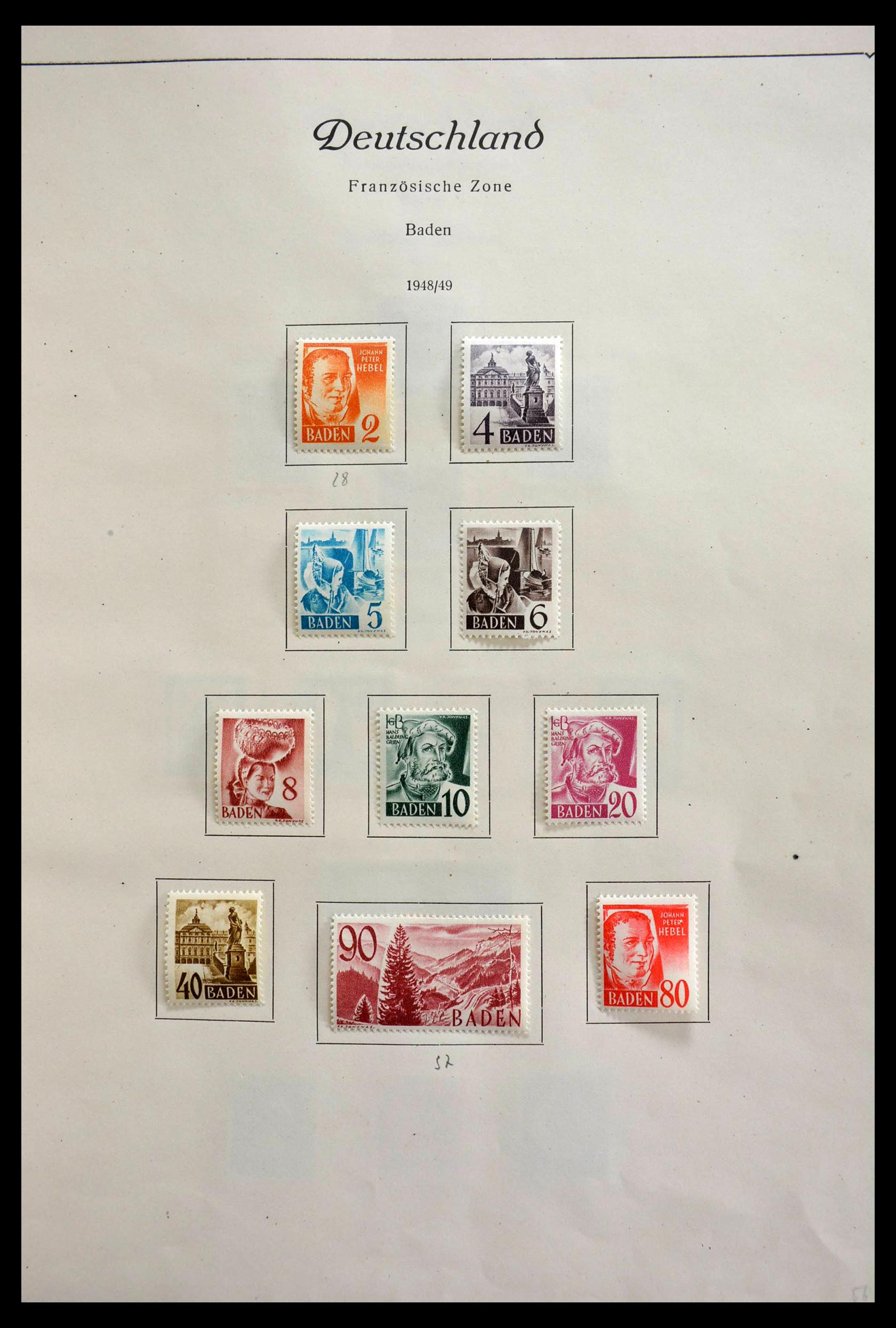 28685 008 - 28685 Germany 1946-1969.