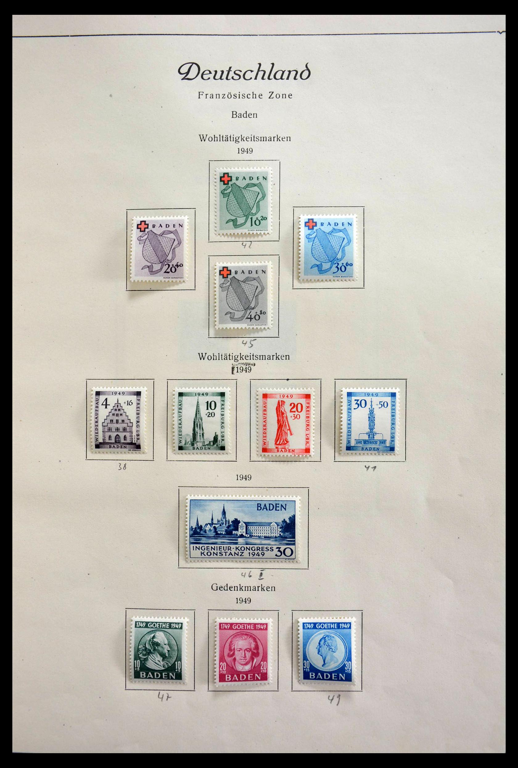 28685 009 - 28685 Germany 1946-1969.