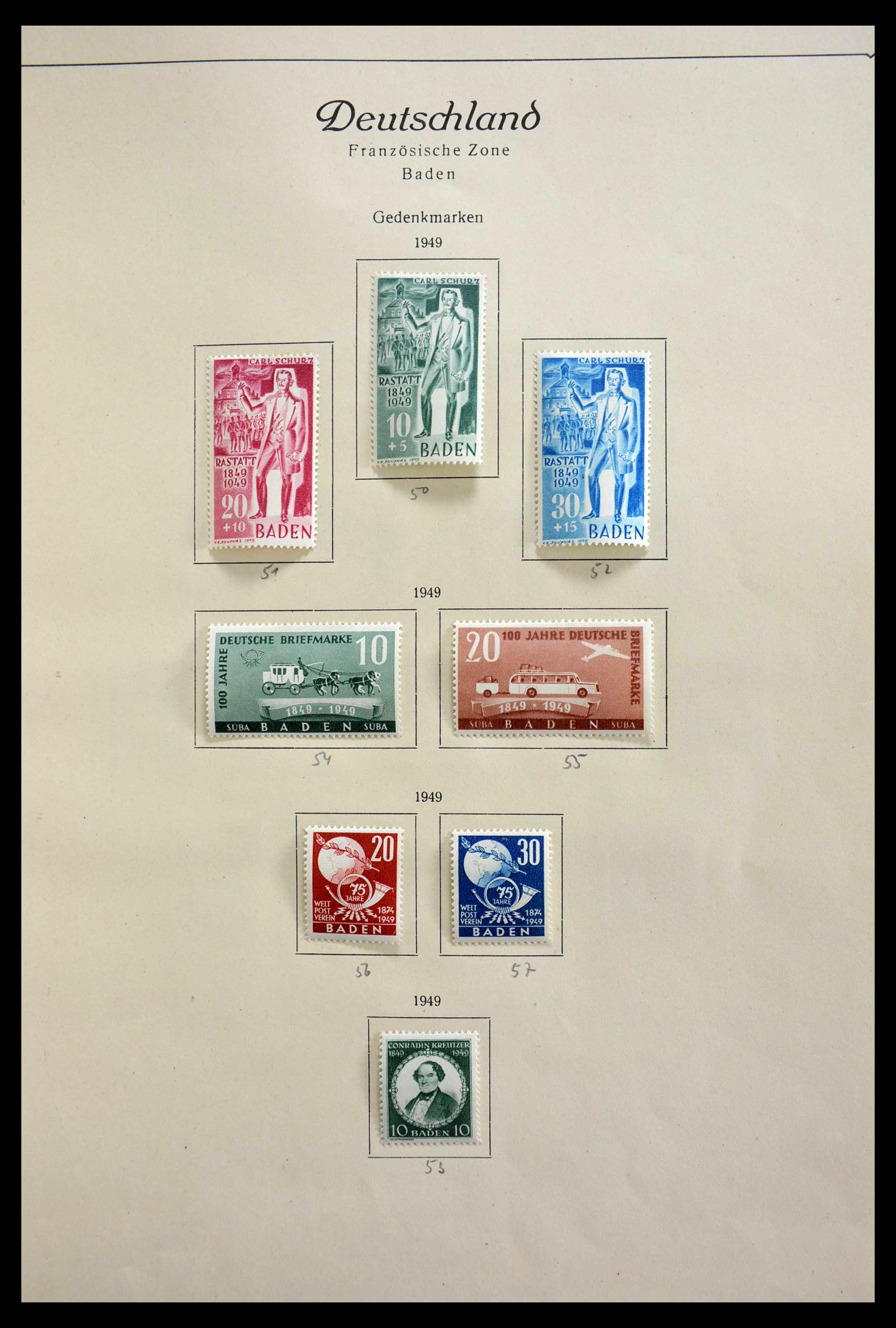 28685 012 - 28685 Germany 1946-1969.