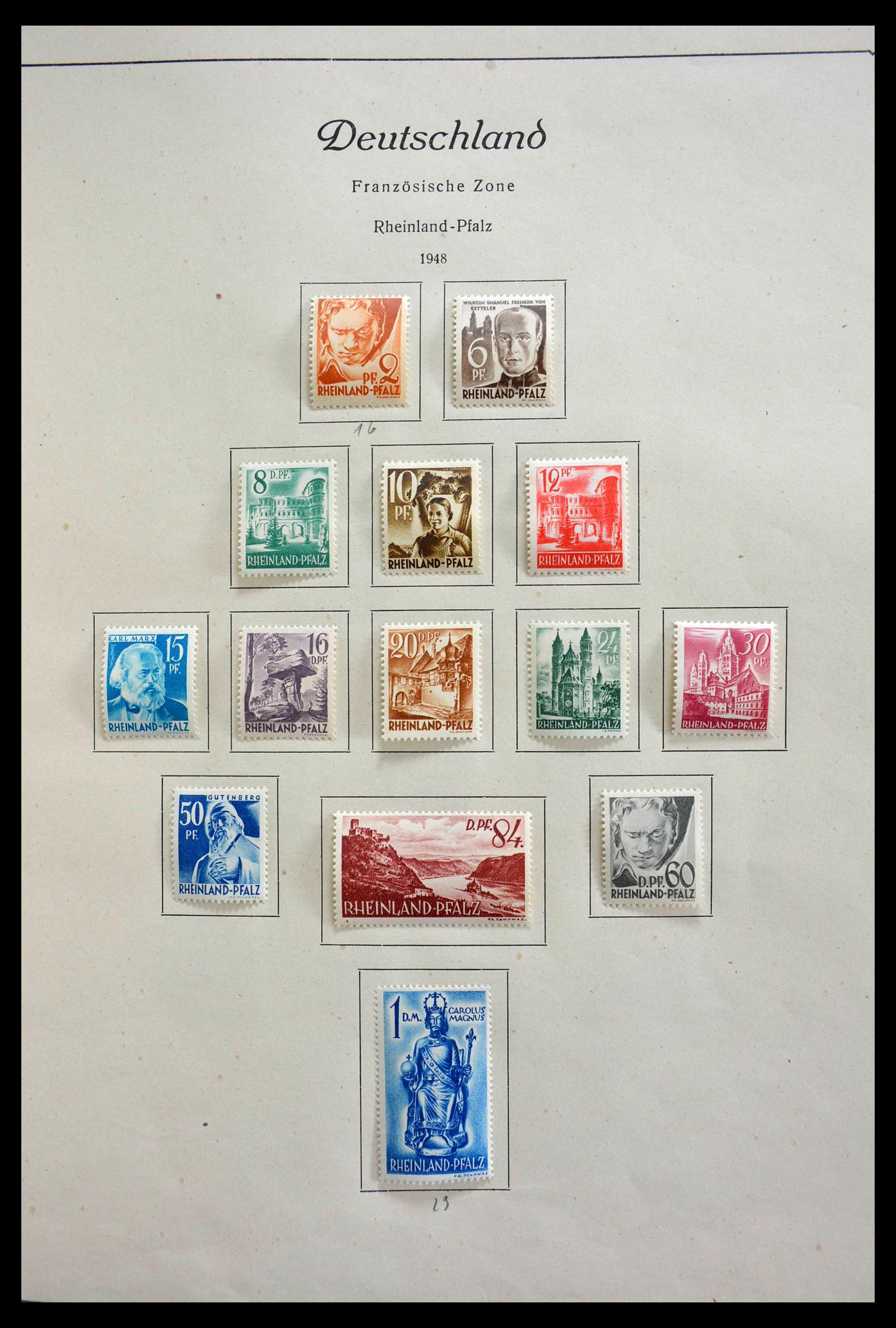 28685 014 - 28685 Germany 1946-1969.