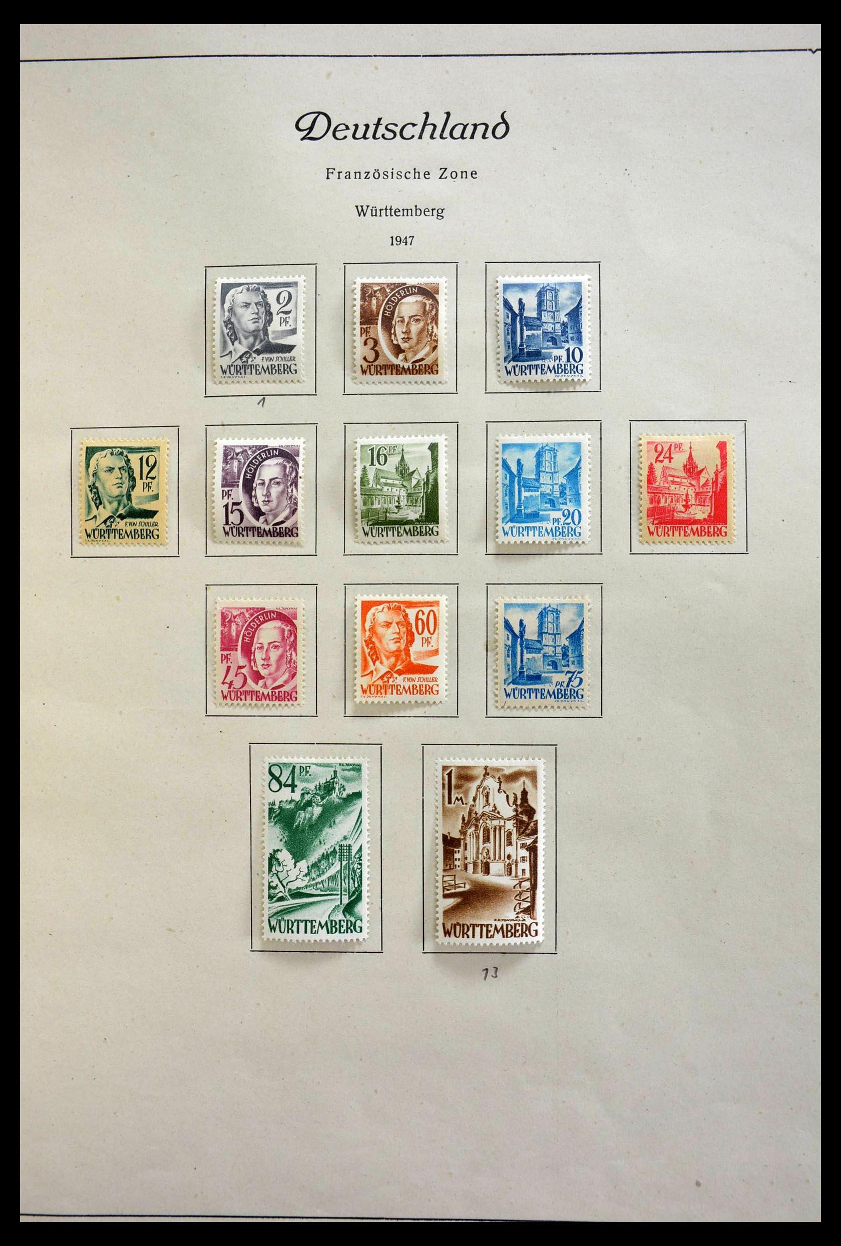 28685 019 - 28685 Germany 1946-1969.