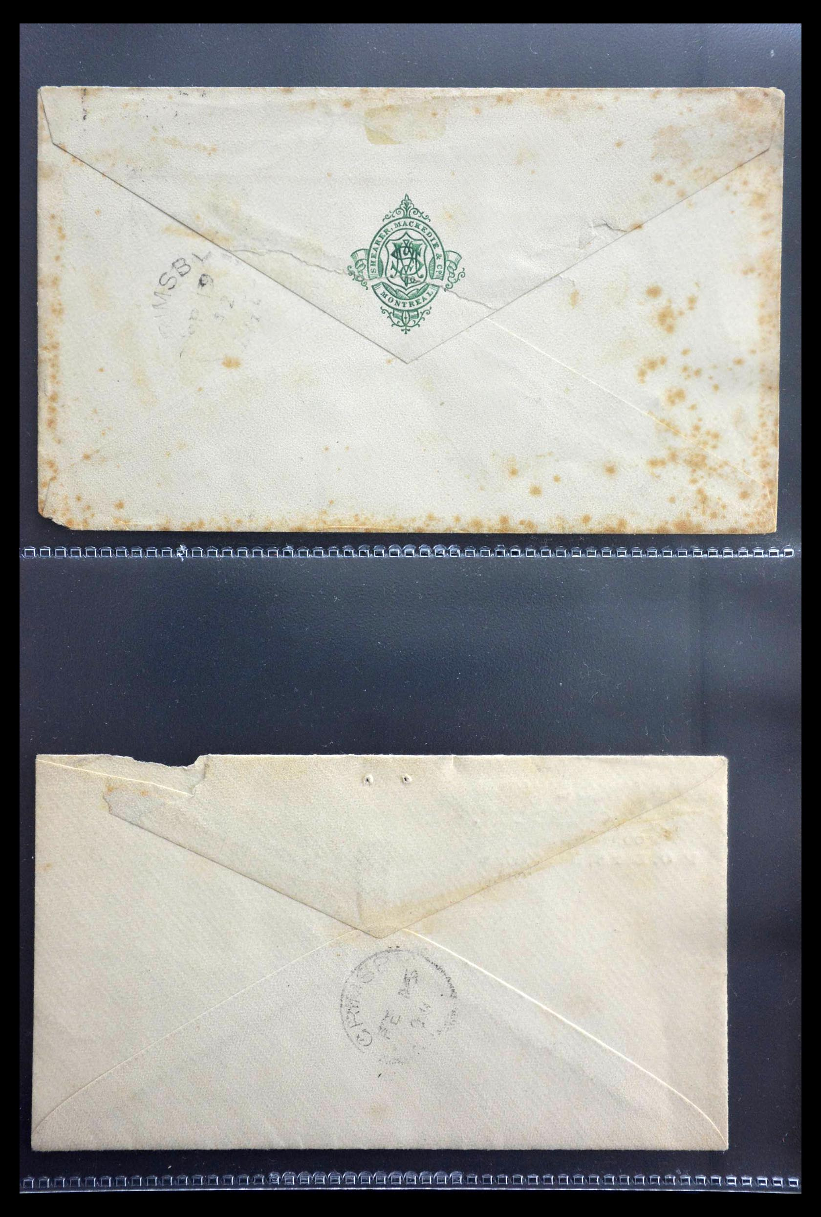 28696 002 - 28696 Canada covers 1872-1939.