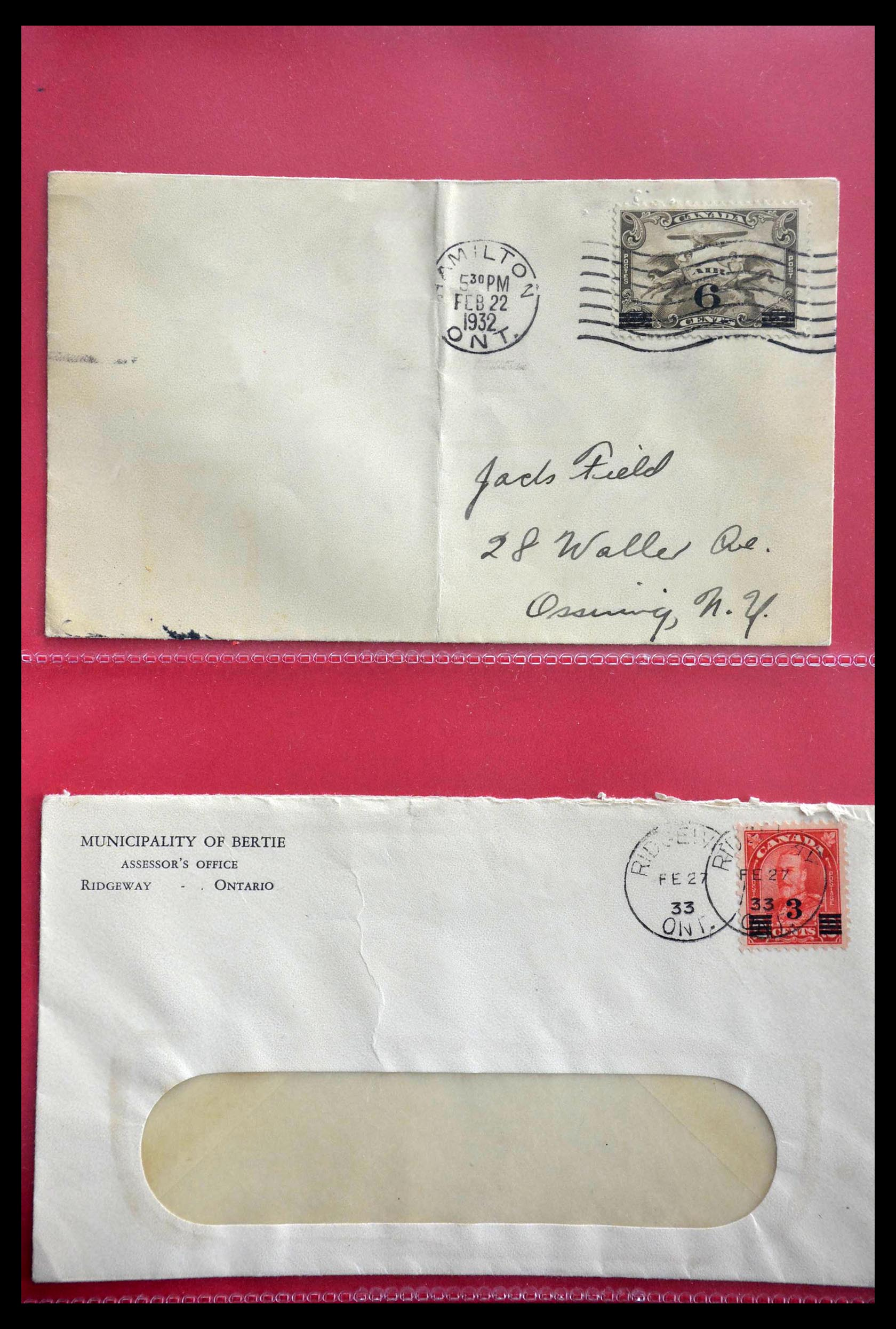 28696 005 - 28696 Canada covers 1872-1939.