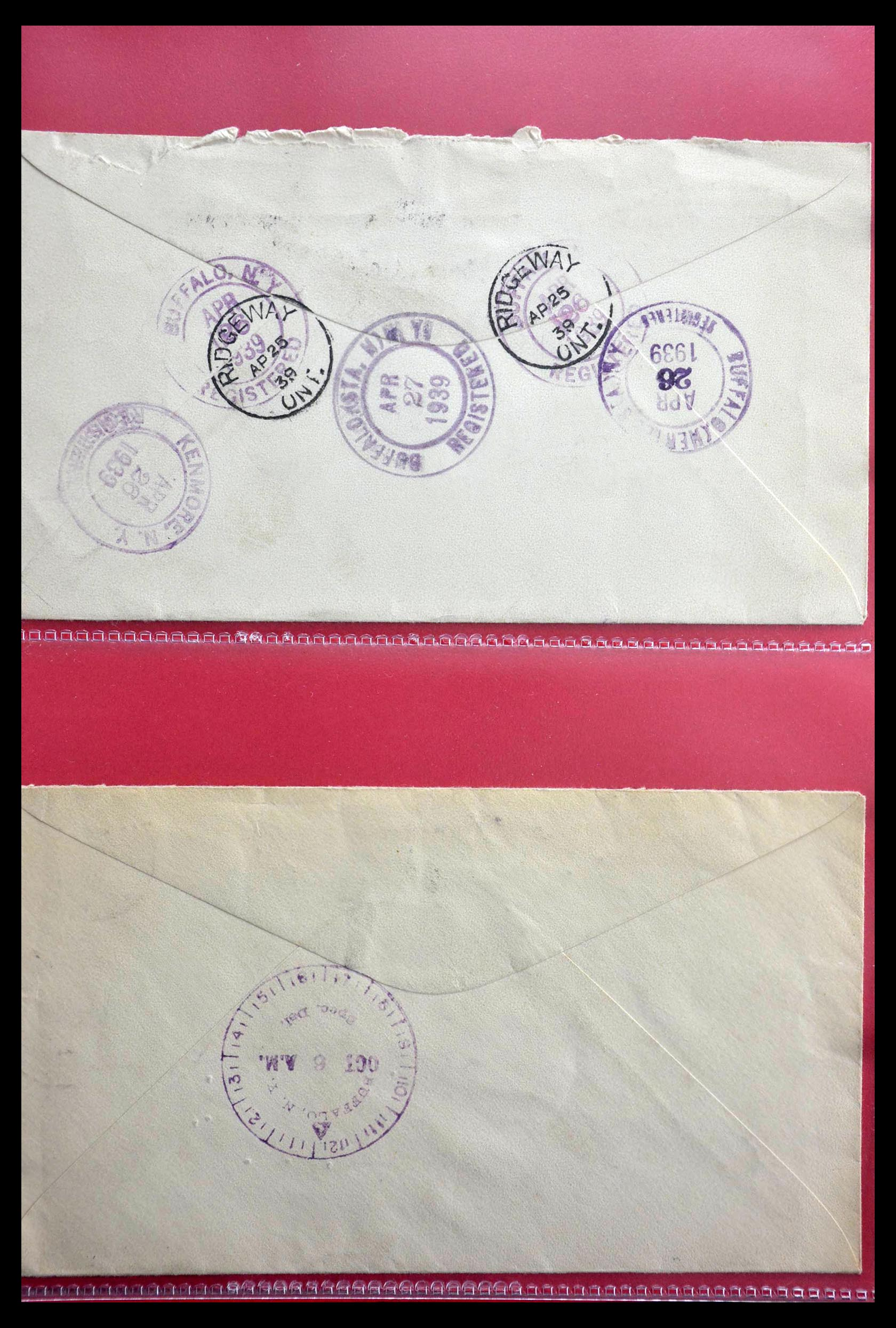 28696 008 - 28696 Canada covers 1872-1939.