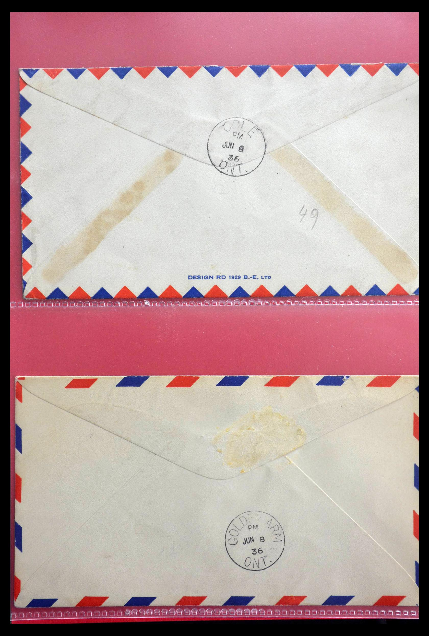 28696 010 - 28696 Canada covers 1872-1939.