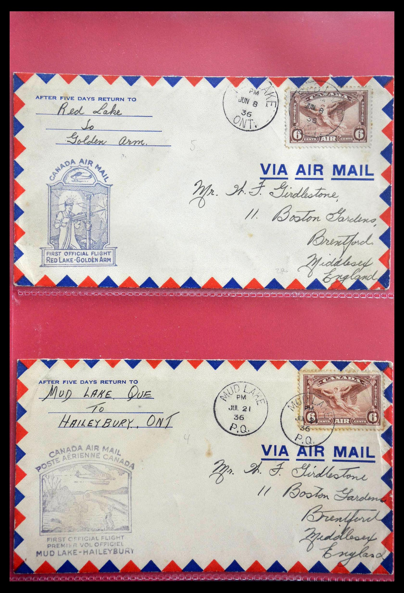 28696 011 - 28696 Canada covers 1872-1939.
